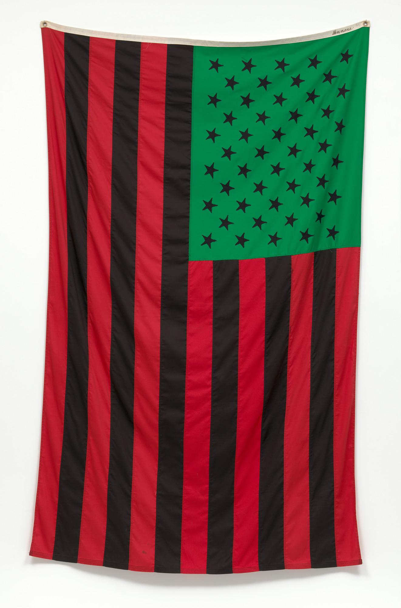 David Hammons. African American Flag. 1990 | MoMA
