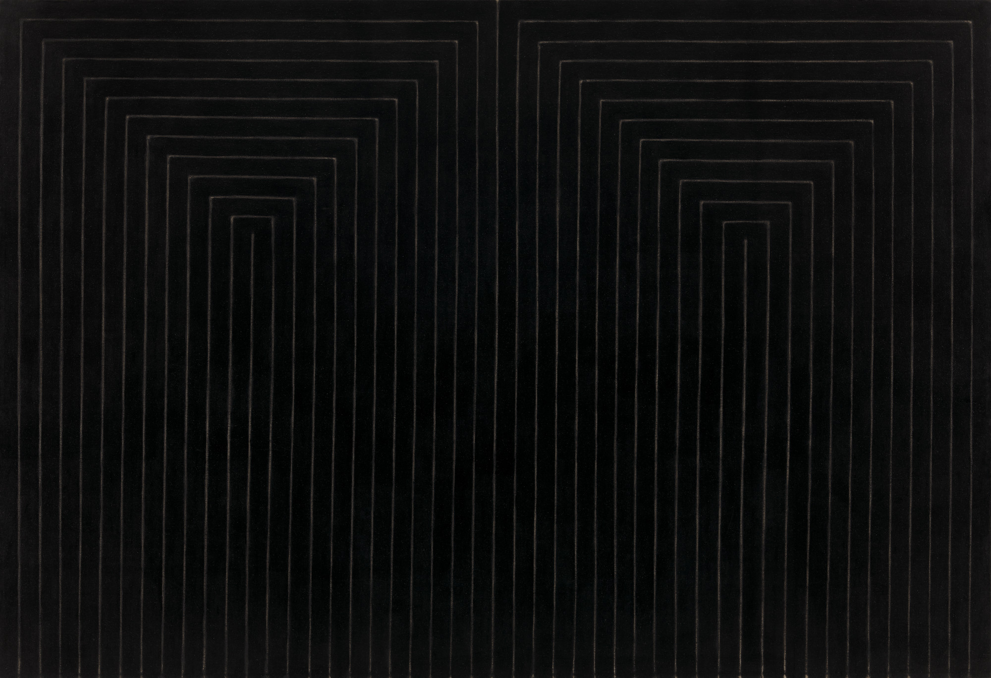 Frank Stella. The Marriage of Reason and Squalor, II. 1959