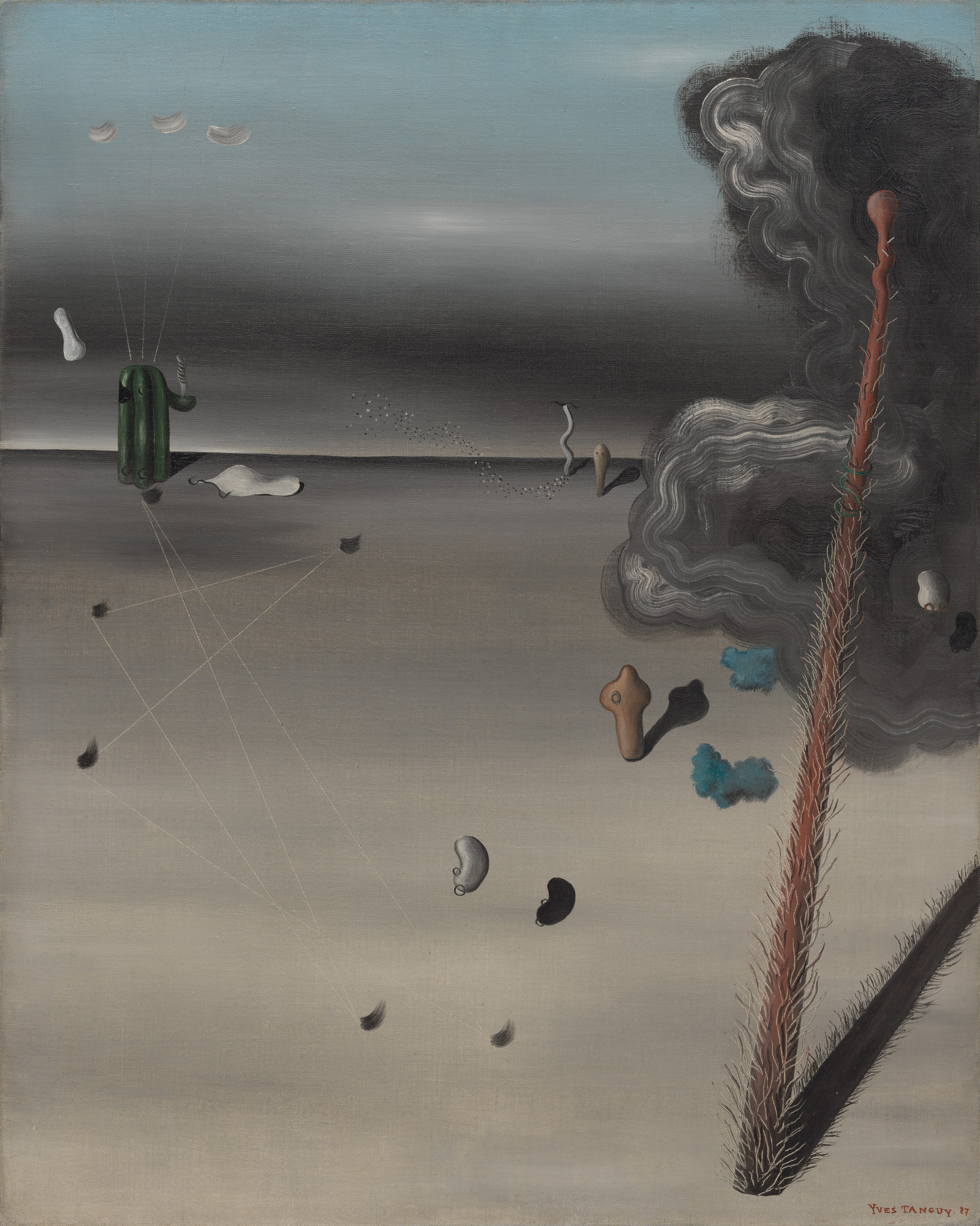 Yves Tanguy. Mama, Papa Is Wounded!. 1927