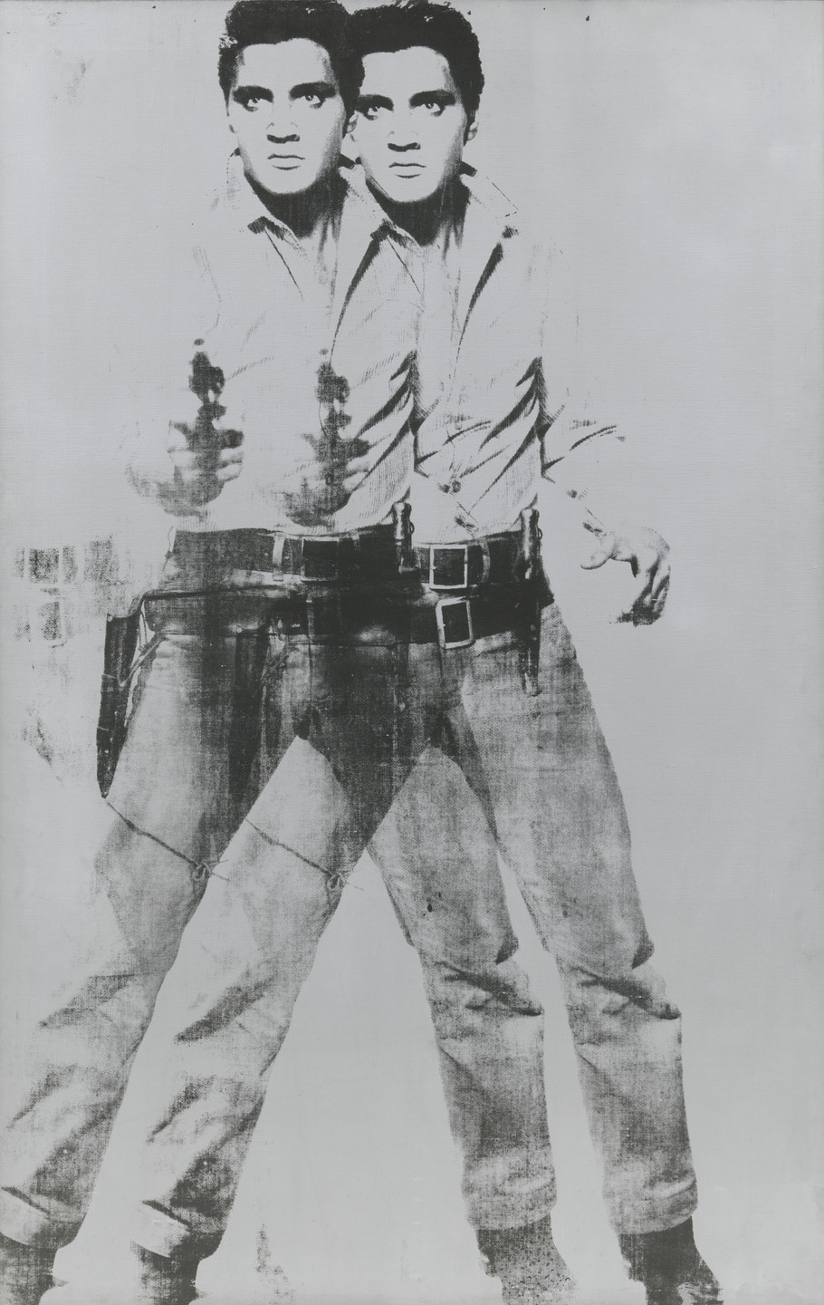 Andy Warhol. Double Elvis. 1963