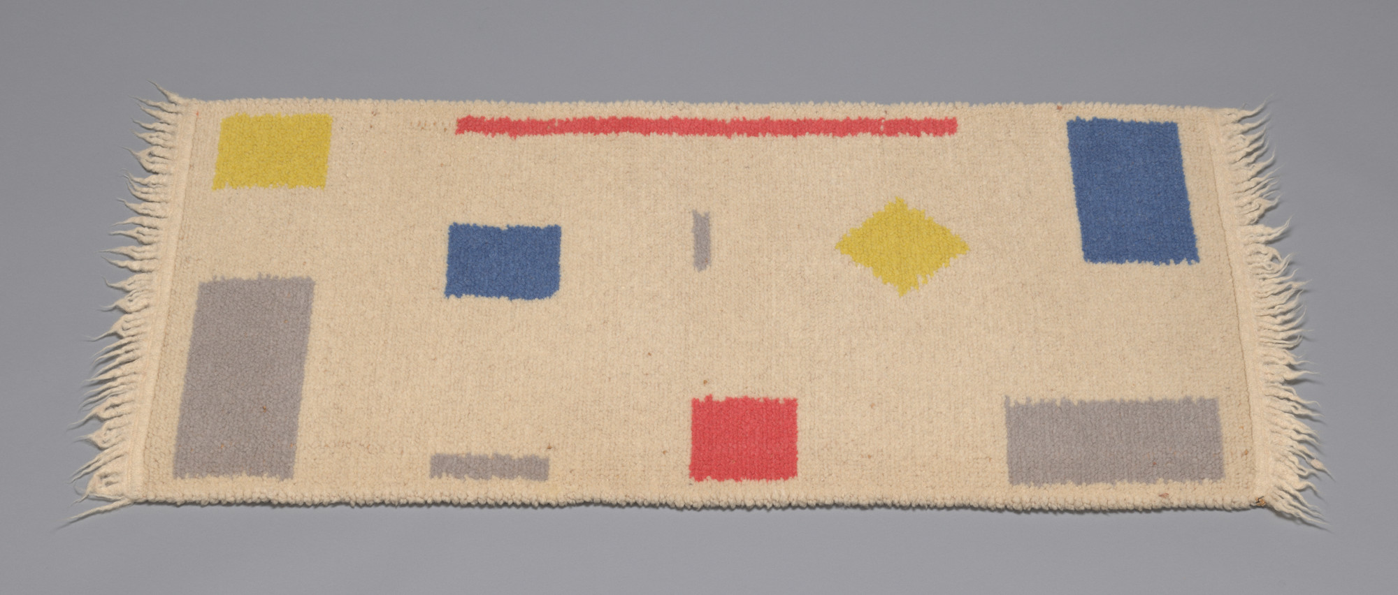 Bart Van Der Leck. Double Faced Rug. 1929–1935