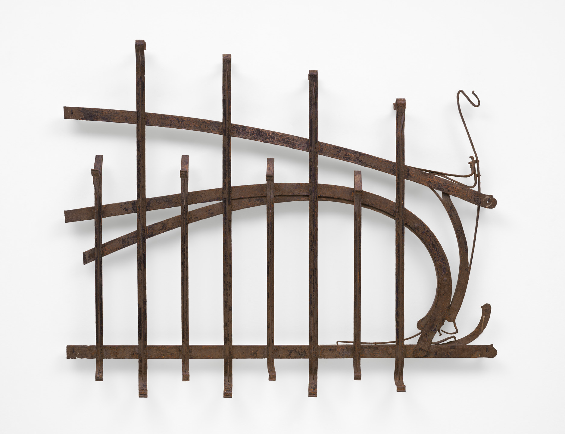 Hector Guimard. Fence from the Castel Henriette, Sèvres, France. 1899–1903