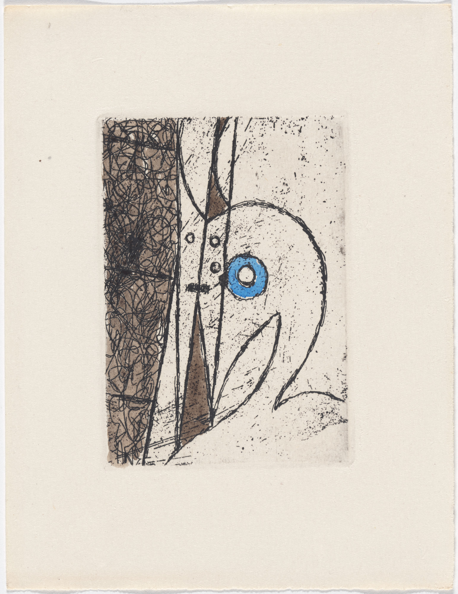 Max Ernst. Variant of plate (page 161) from Monsieur Aa l'antiphilosophe: Volume I from L'Antitête. 1947–49, published 1949