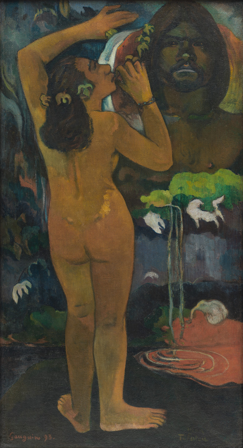 Paul Gauguin. The Moon and the Earth. 1893
