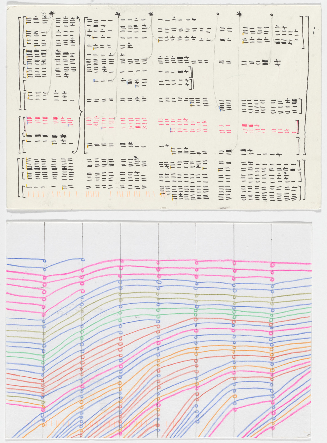 Giorgia Lupi, Stefanie Posavec. Dear Data: Week 10 (To-Do Lists / A Week of To-Dos). 2014