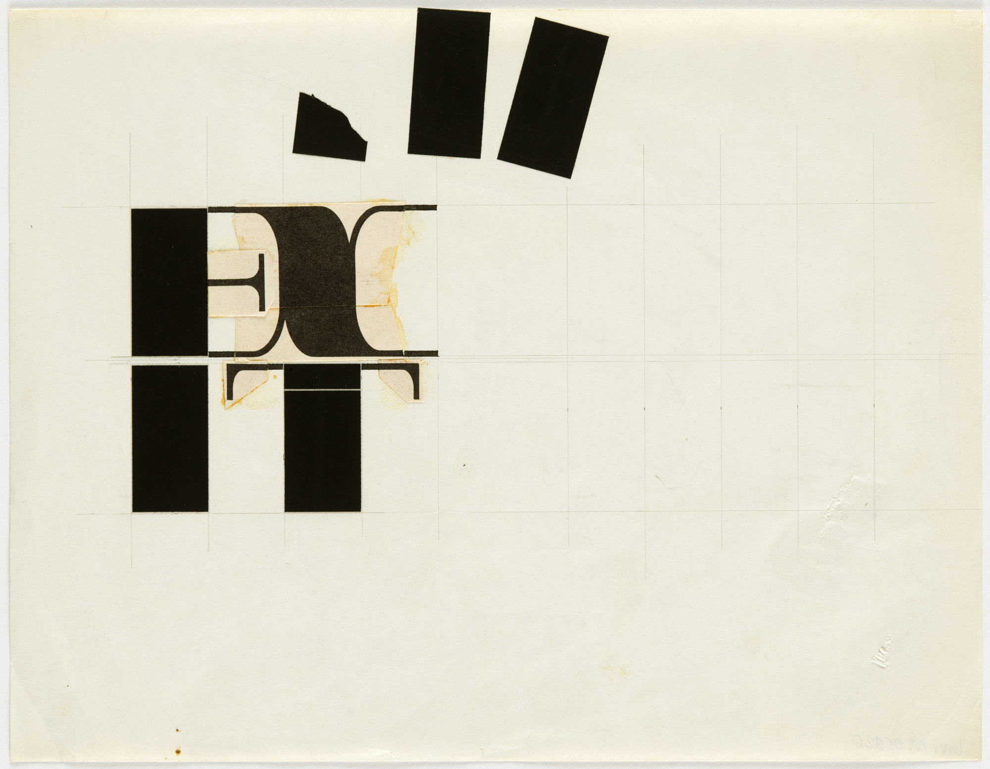 George Maciunas, George Brecht. Mechanical for Exit. c. 1966