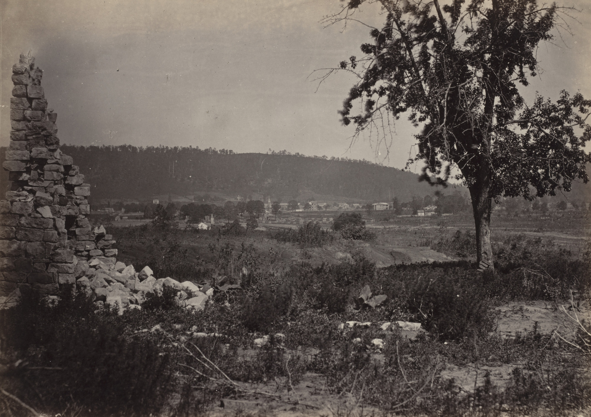 George Barnard. Ringold, Georgia from the album Photographic Views of Sherman's Campaign. 1864-65