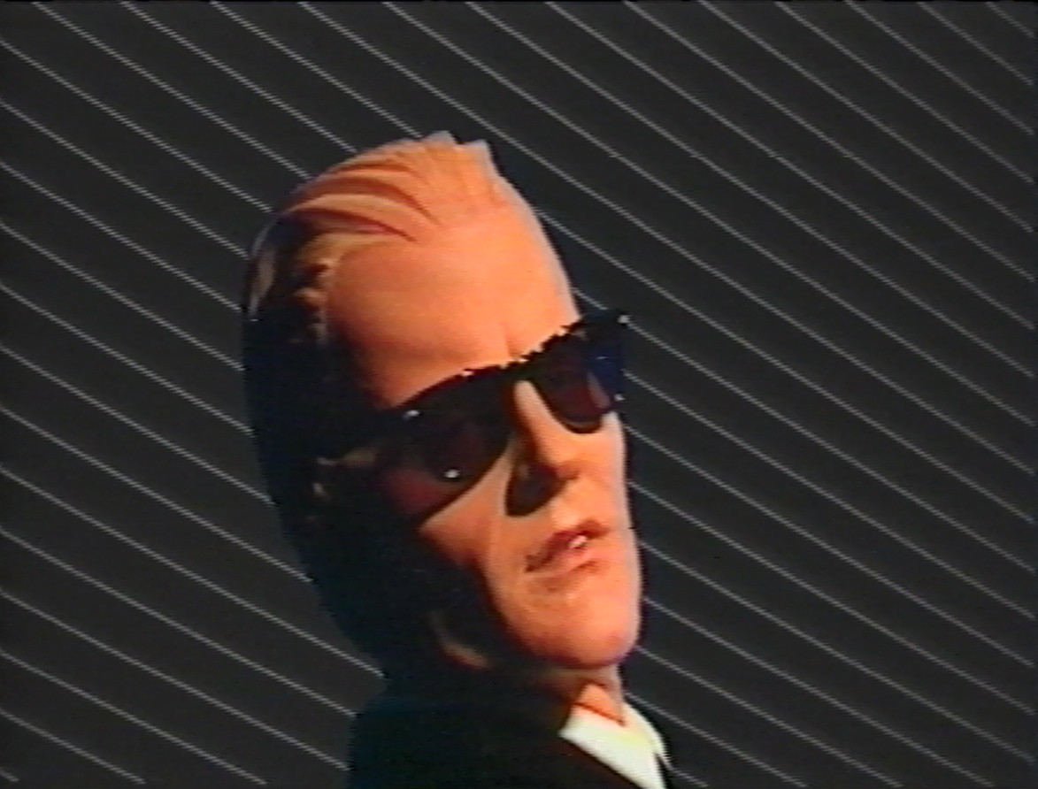 Rocky Morton, Annabel Jankel, George Stone, Matt Frewer. The Max Headroom Show: series 1, episode 11. 1985