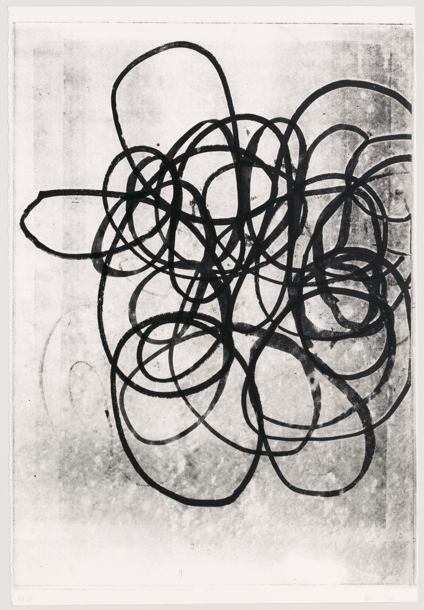 Christopher Wool. Untitled from 99/00. 2000