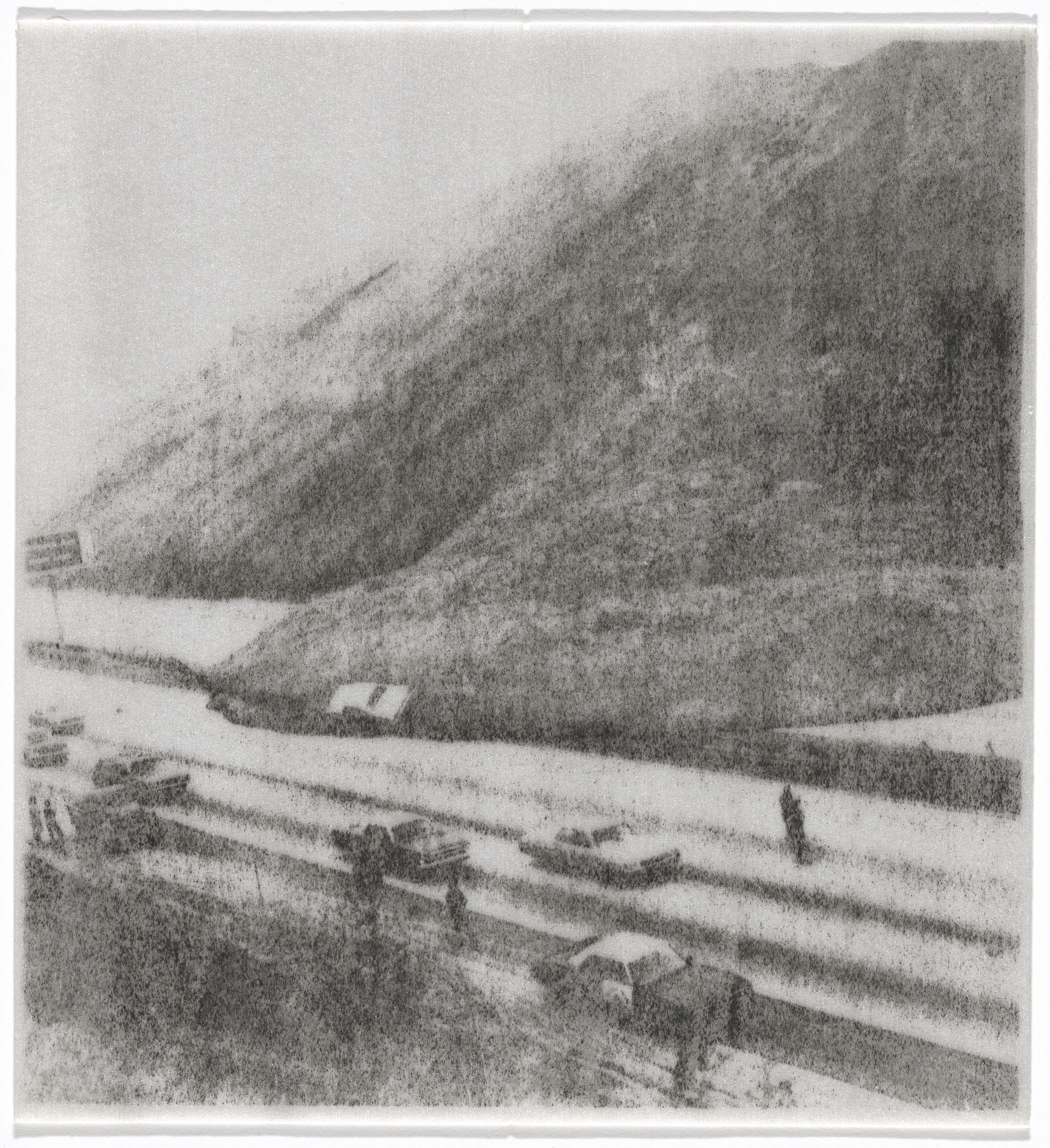 William Leavitt, Bas Jan Ader. Landslide, bonus issue. 1969