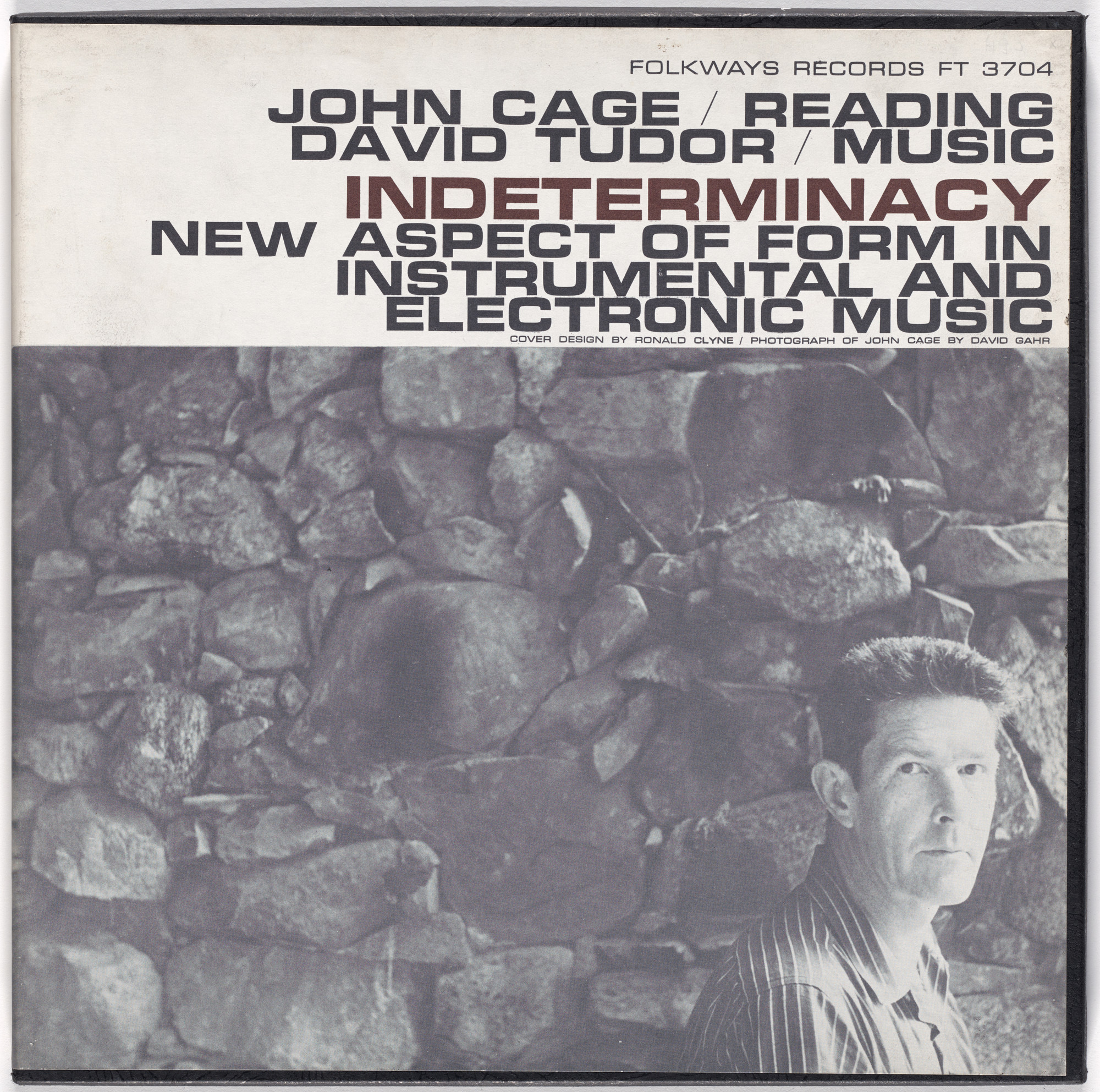 John Cage, David Tudor. Indeterminacy: New Aspect of Form in Instrumental and Electronic Music. 1959