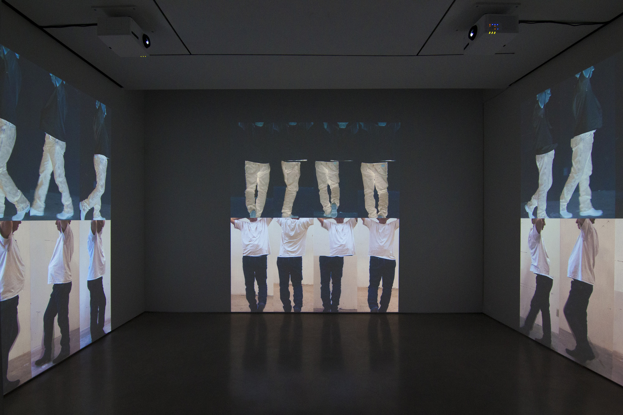 Bruce Nauman. Contrapposto Studies, i through vii. 2015/2016