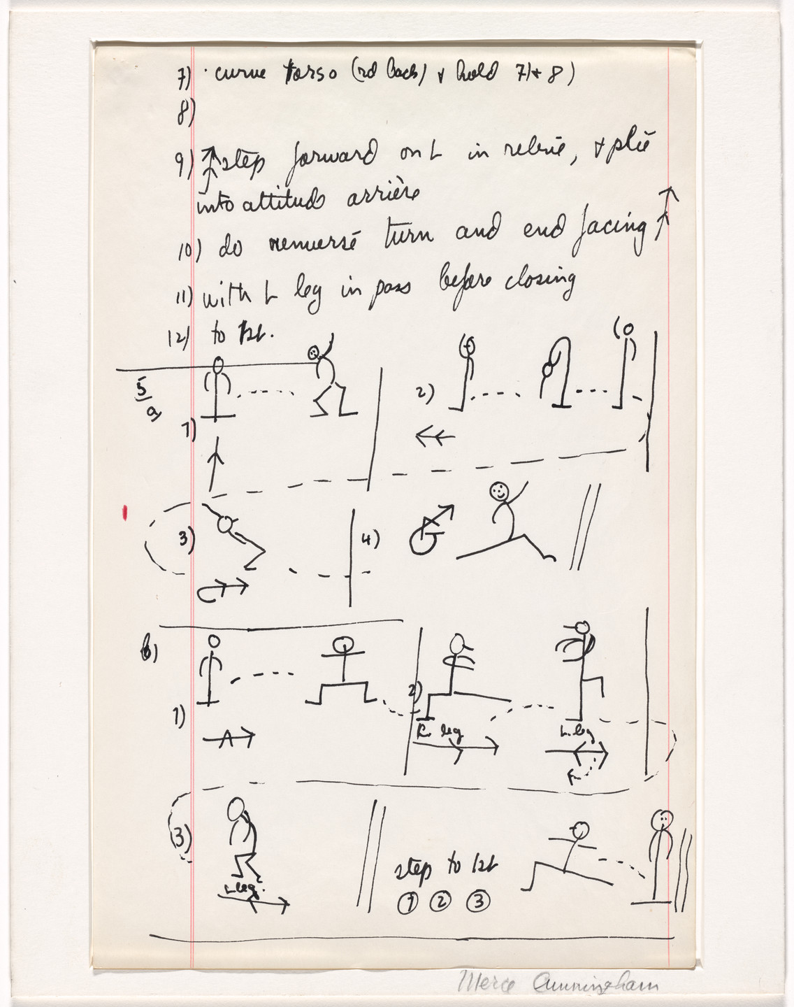 Merce Cunningham. Aeon. 1961/1963