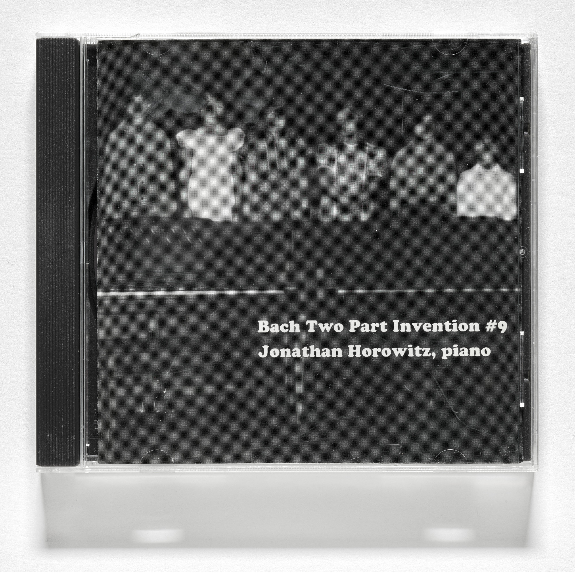 Jonathan Horowitz. Bach Two Part Invention #9. 1998