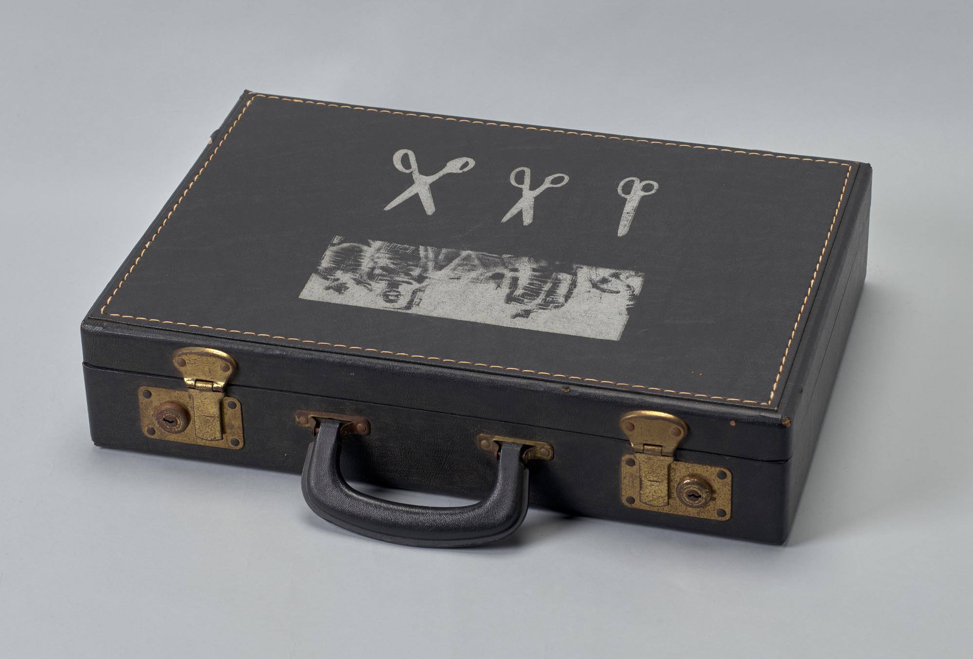 Alison Knowles, George Brecht, Robert Watts. Attaché Case. 1963
