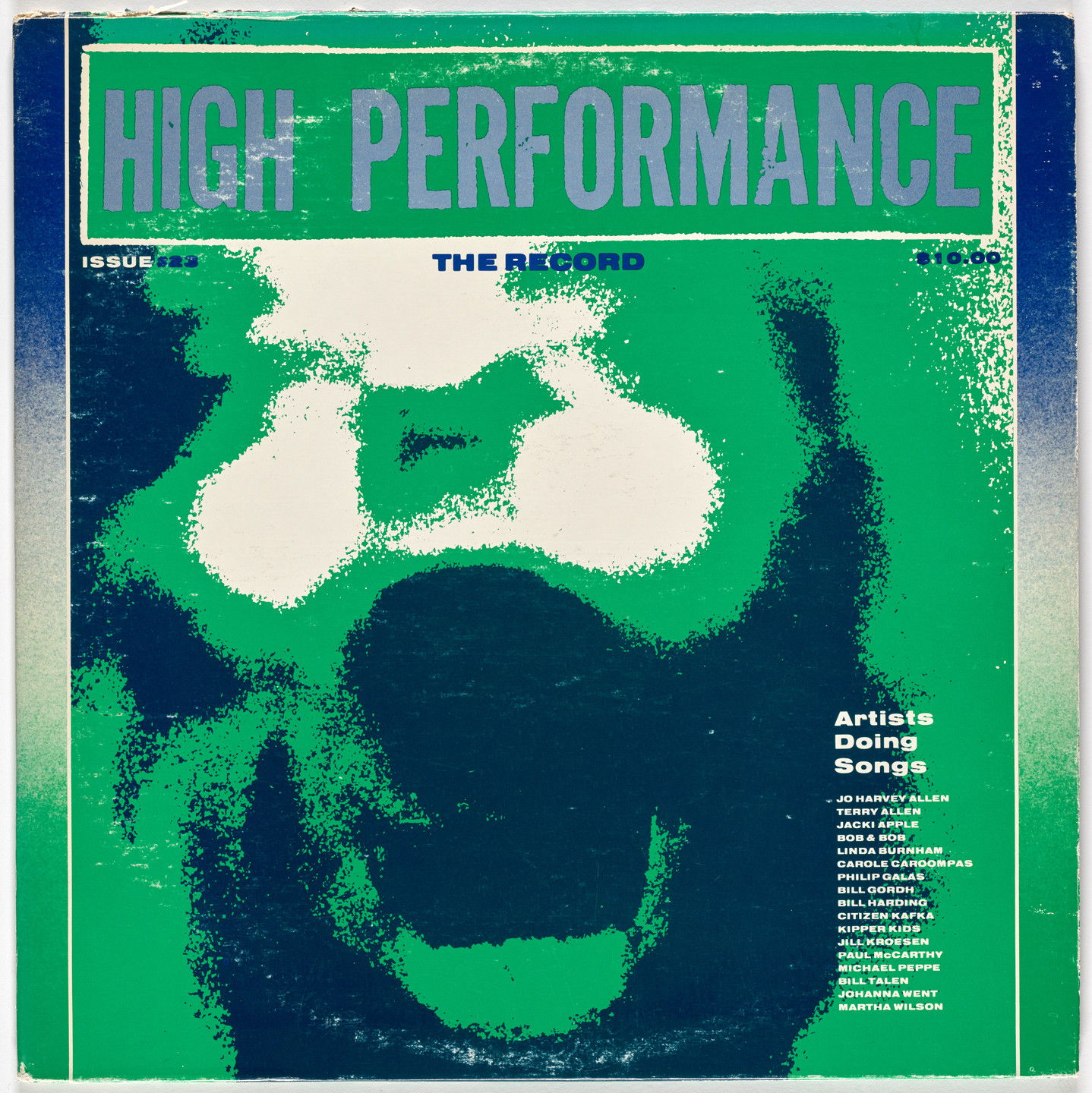 Various Artists. High Performance - The Record (Artists Doing Songs). 1983