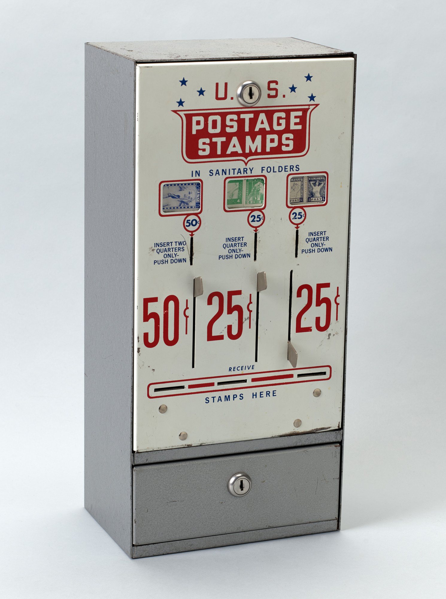 Robert Watts. Stamp Dispenser. 1982