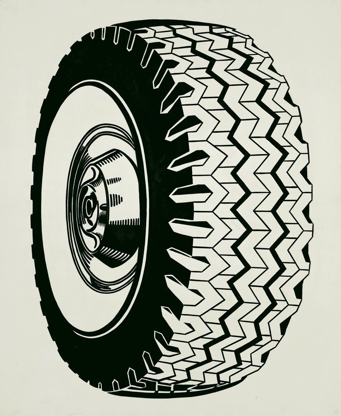 Roy Lichtenstein. Tire. 1962