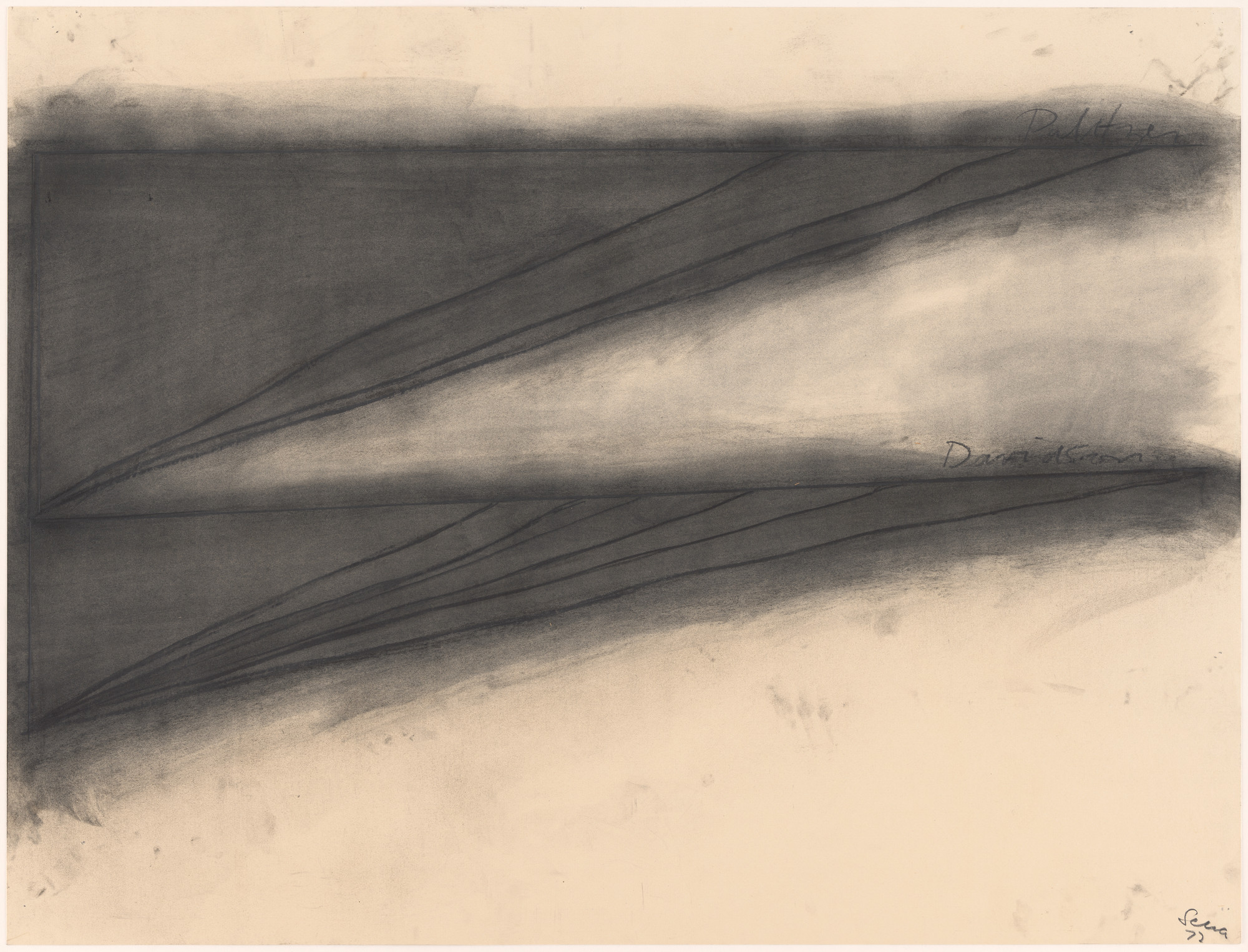Richard Serra. Untitled. 1972