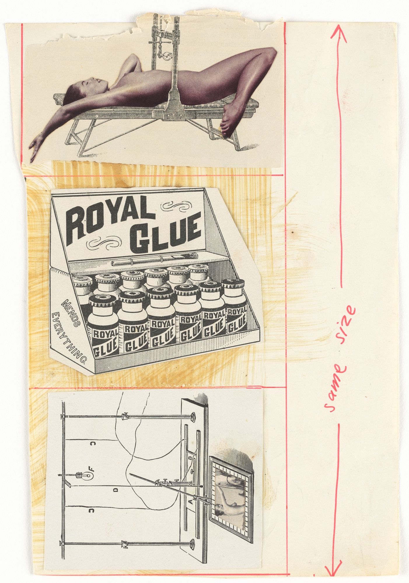 George Maciunas, Robert Watts. Mechanicals for Three Events. c. 1963–64