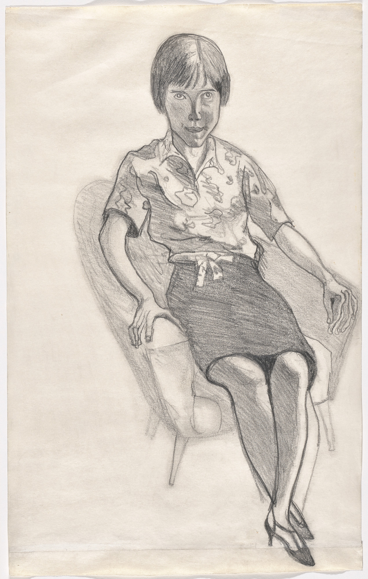 Alice Neel. Christy White. 1958