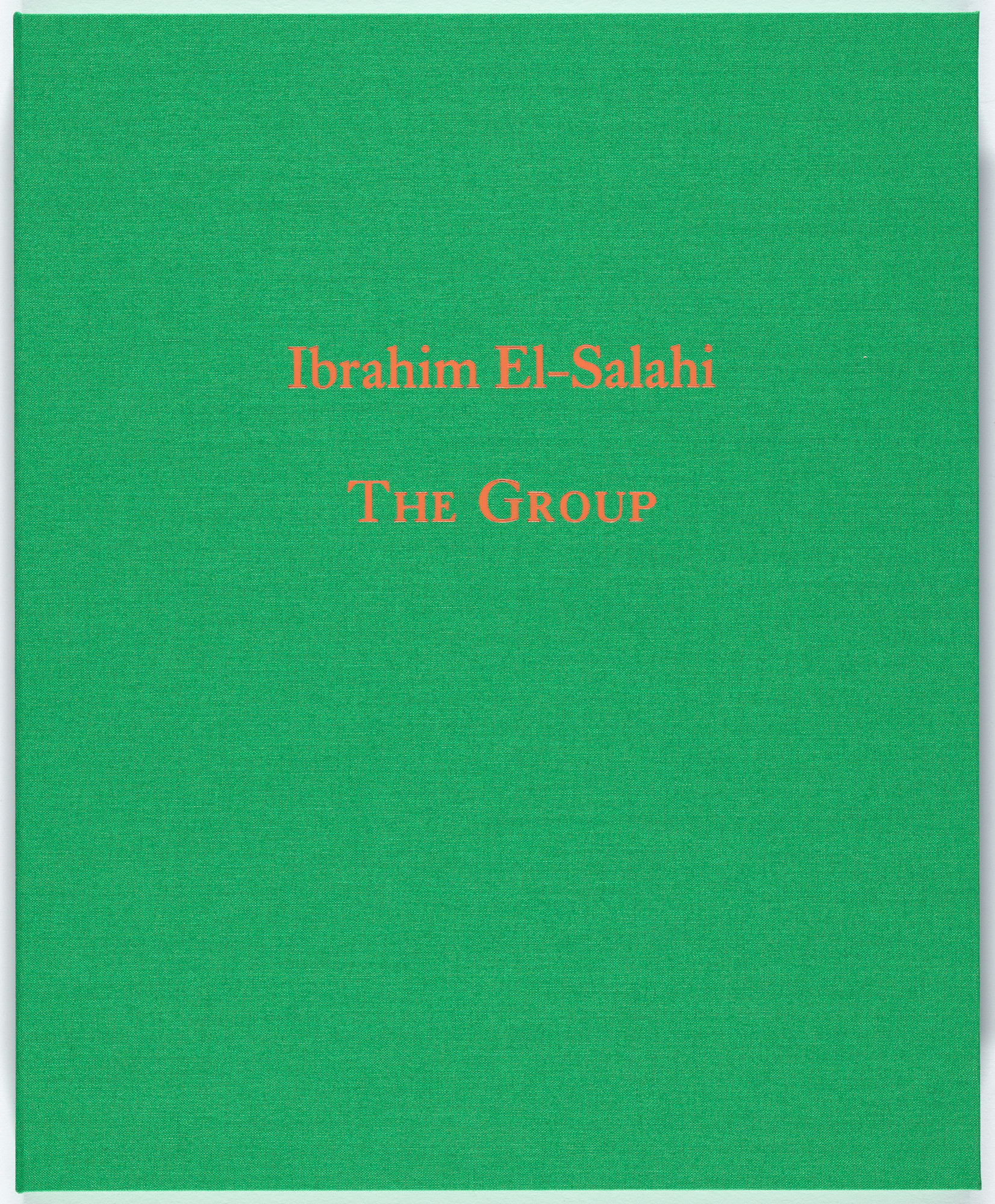 Ibrahim El-Salahi. The Group. 2016