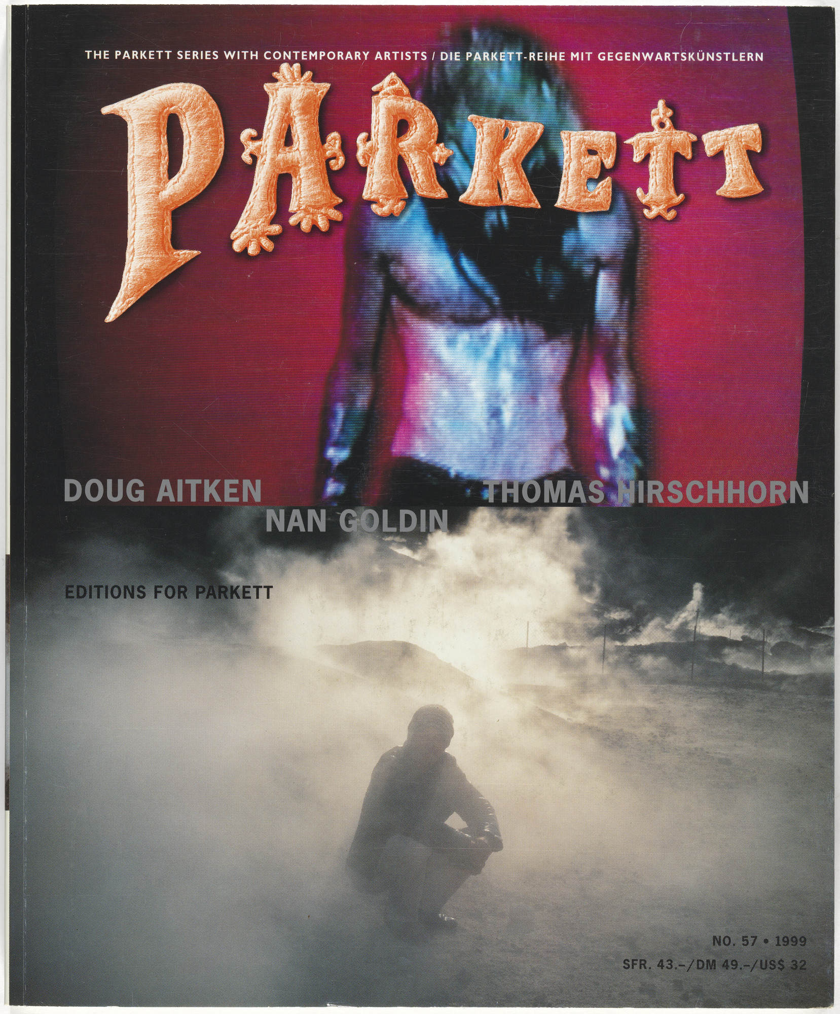 Various Artists, Doug Aitken, Nan Goldin, Thomas Hirschhorn, Louise Bourgeois. Parkett no. 57. 1999