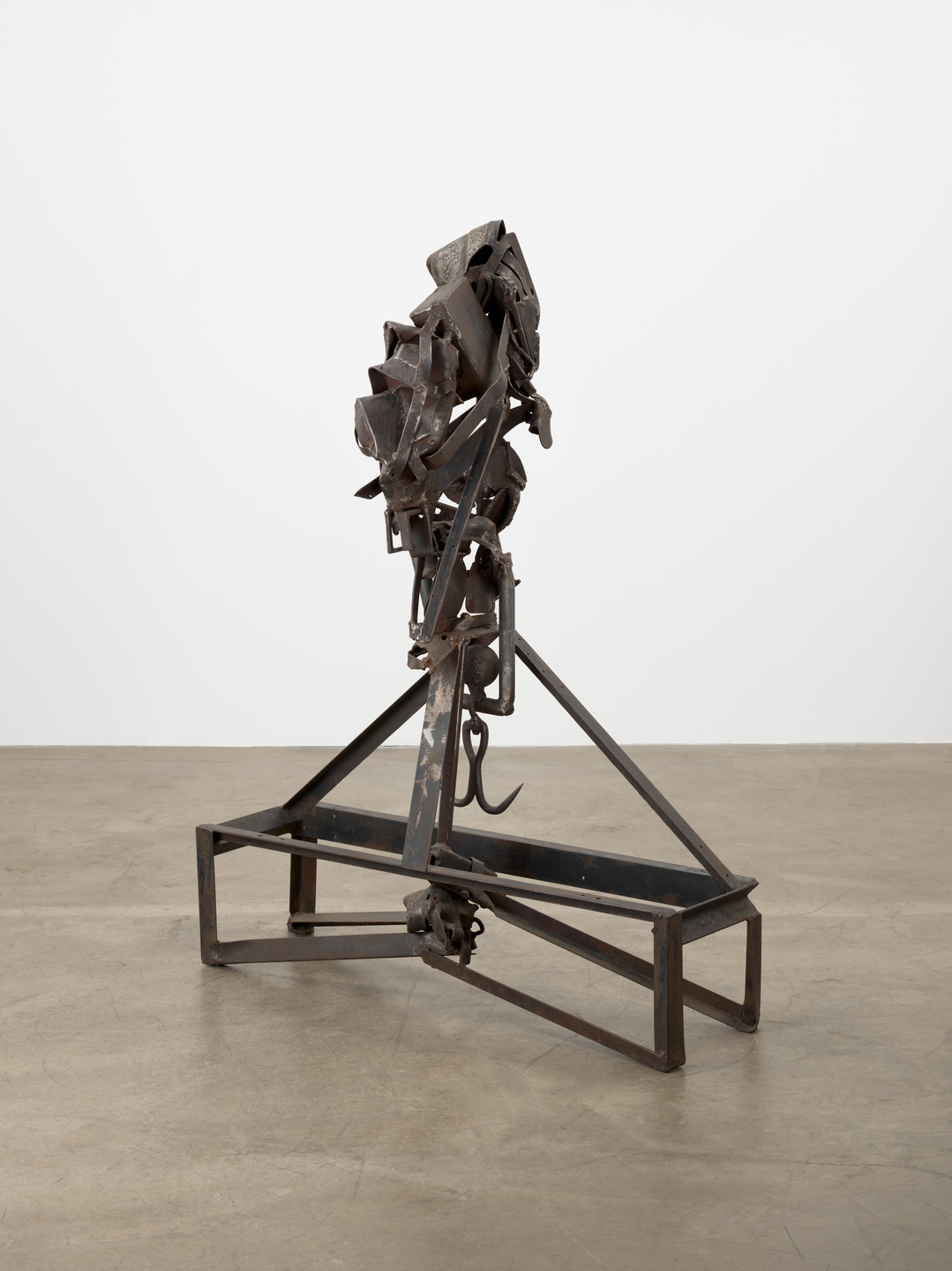 Melvin Edwards. The Lifted X. 1965