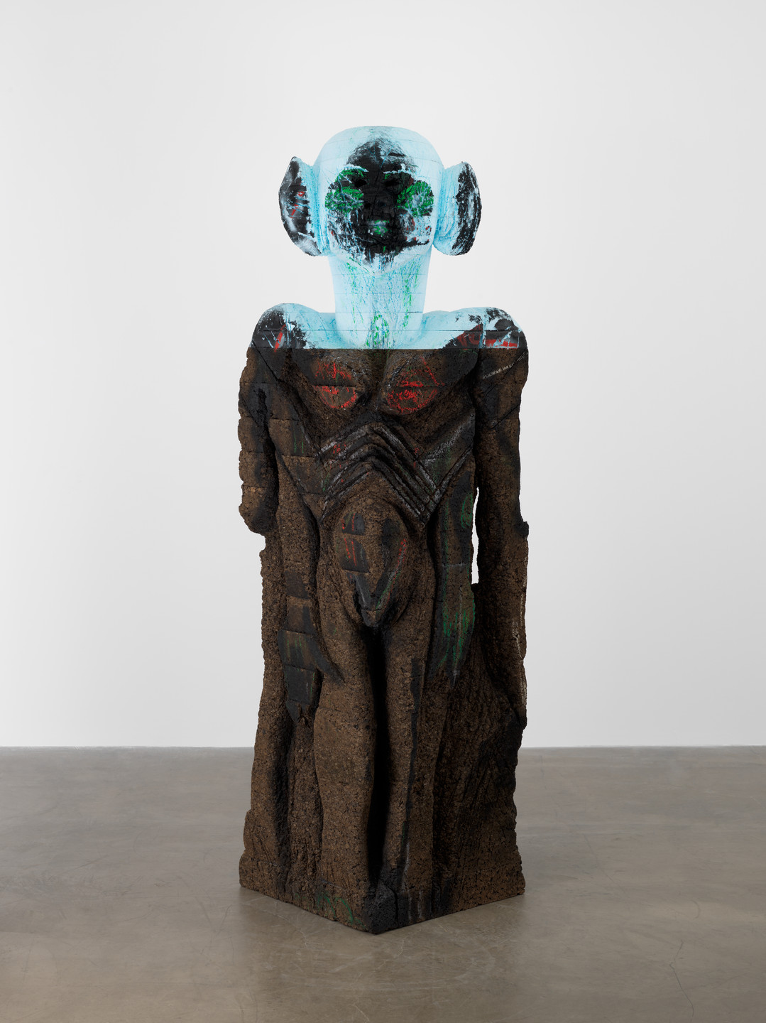 Huma Bhabha. There Is No Killing What Can't Be Killed. 2012