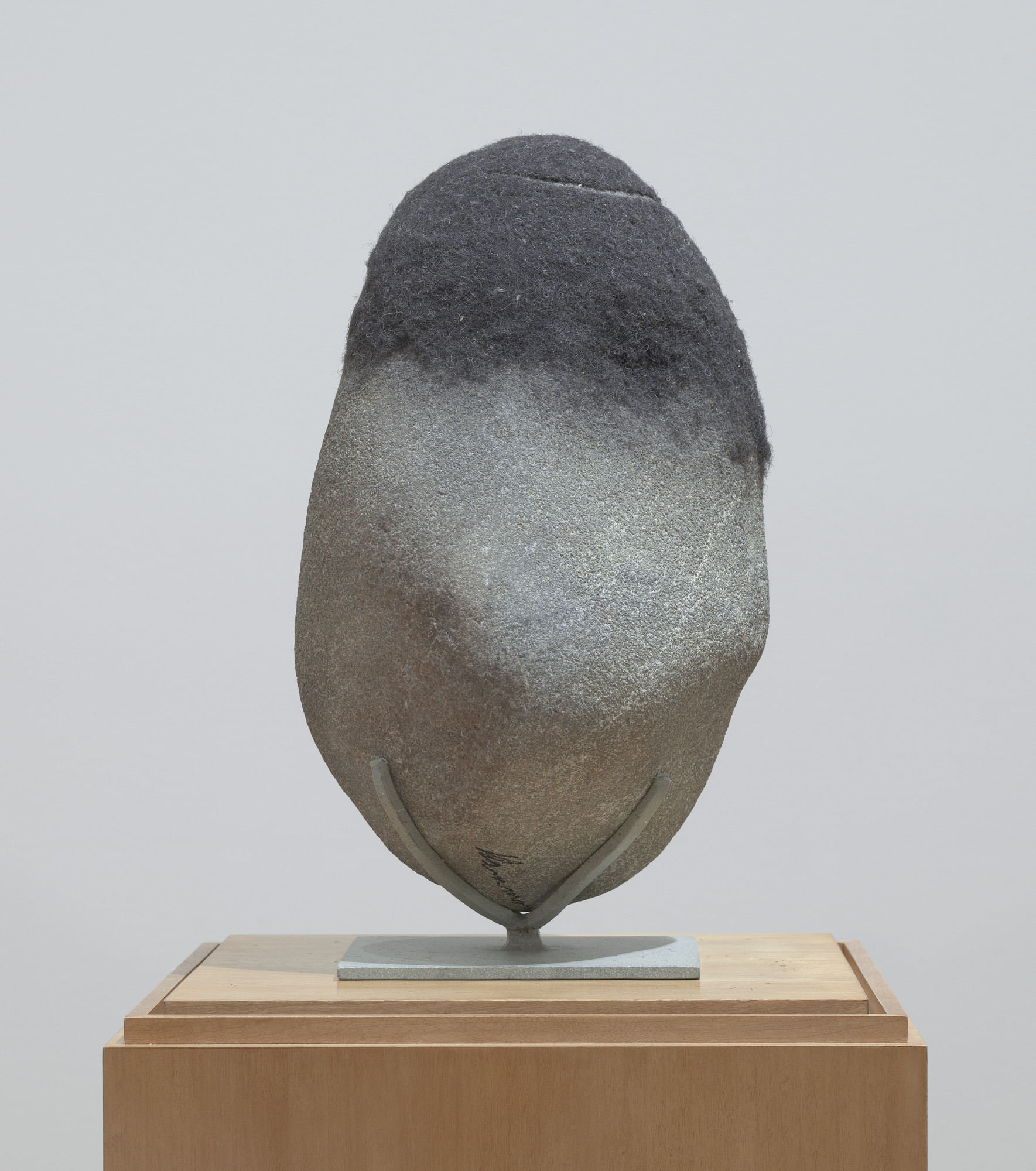 David Hammons. Untitled (Rock Head). 2005