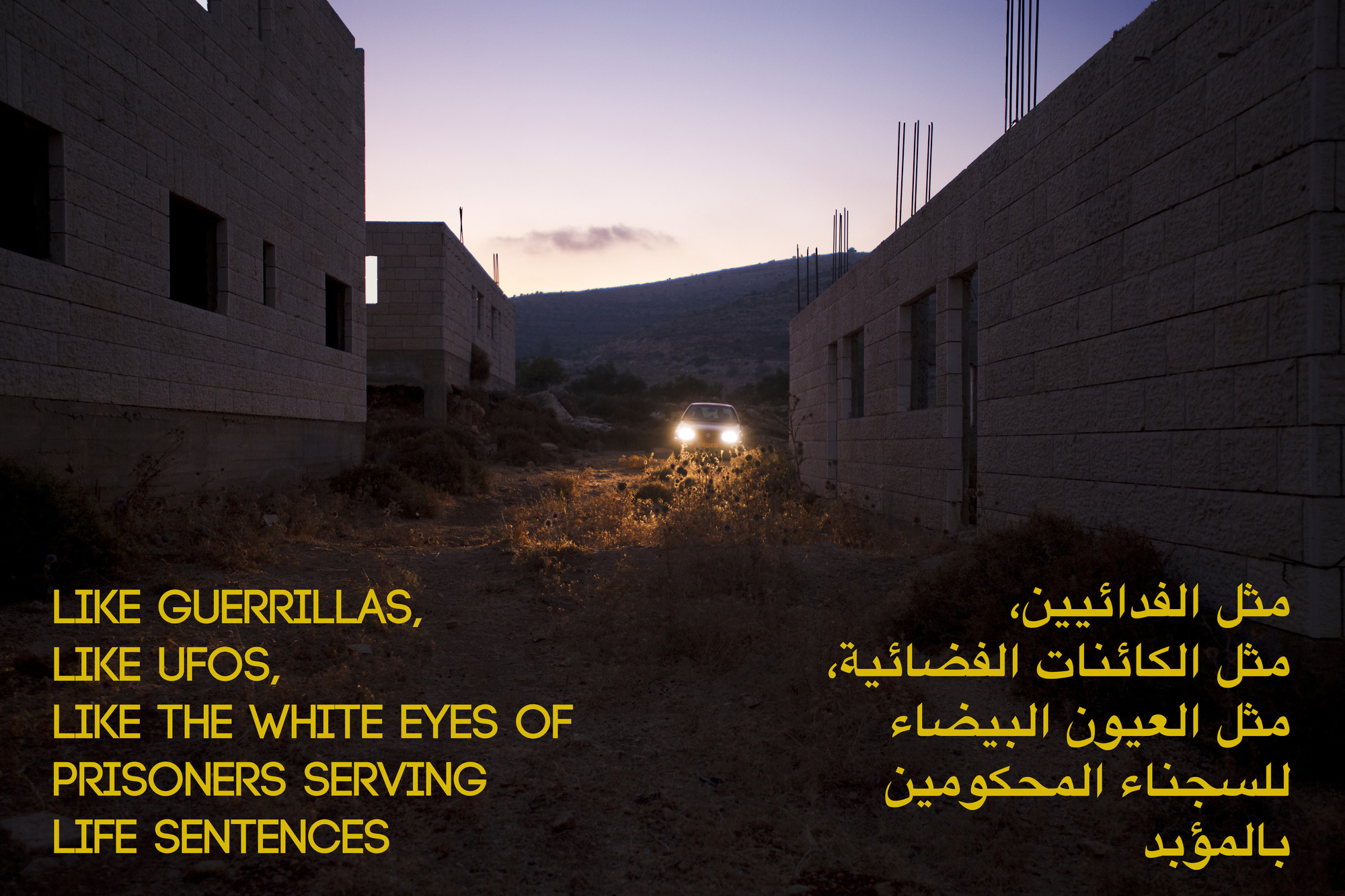 Basel Abbas, Ruanne Abou-Rahme. The Part About the Bandits, Part 1 of the Incidental Insurgents. 2012-2015