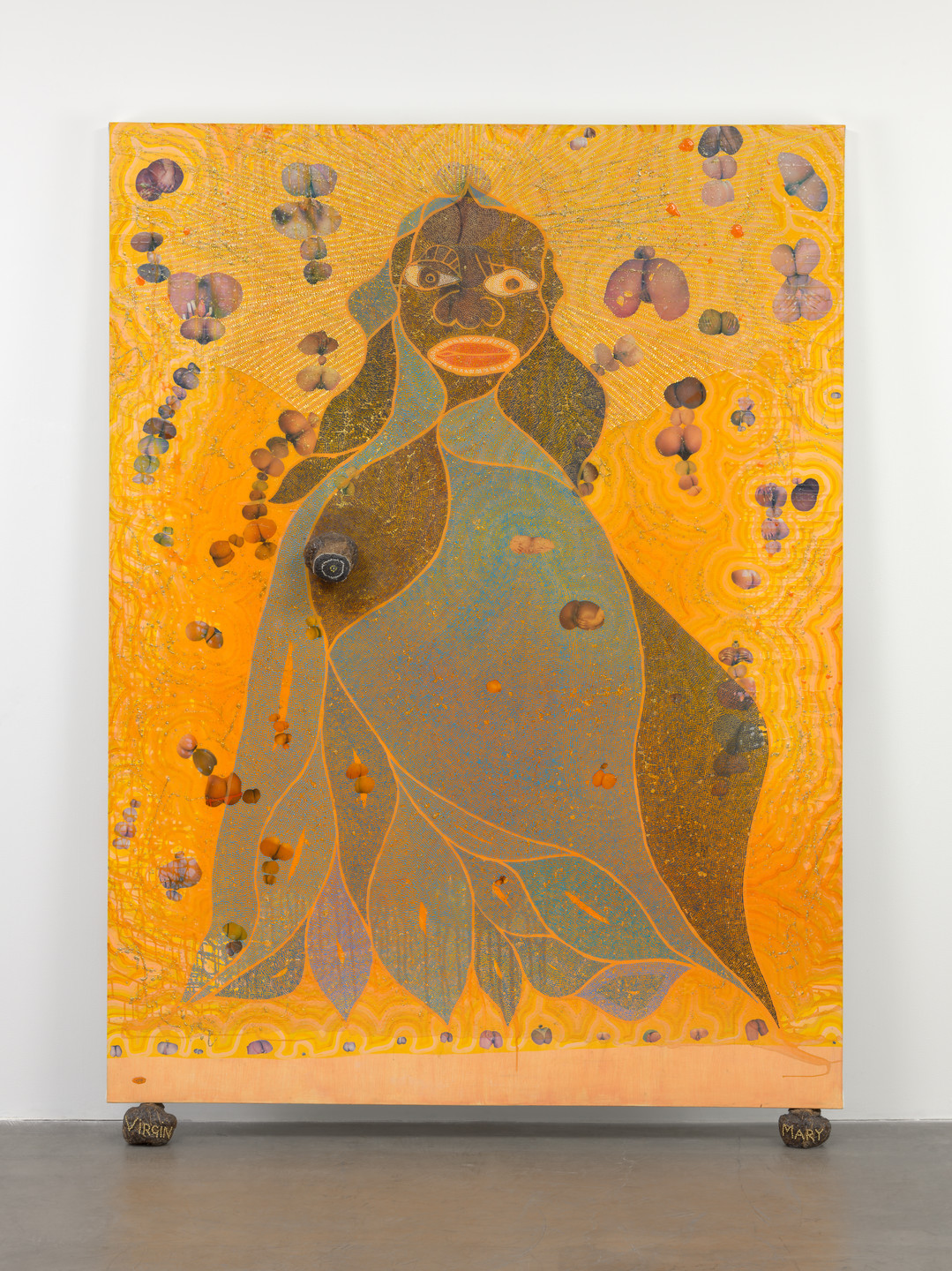 Chris Ofili. The Holy Virgin Mary. 1996