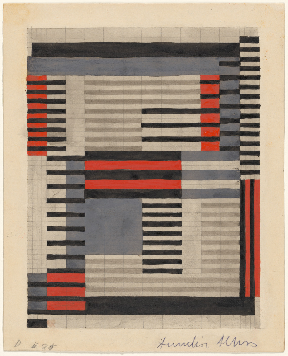 Anni Albers. Design for Smyrna Rug. 1925