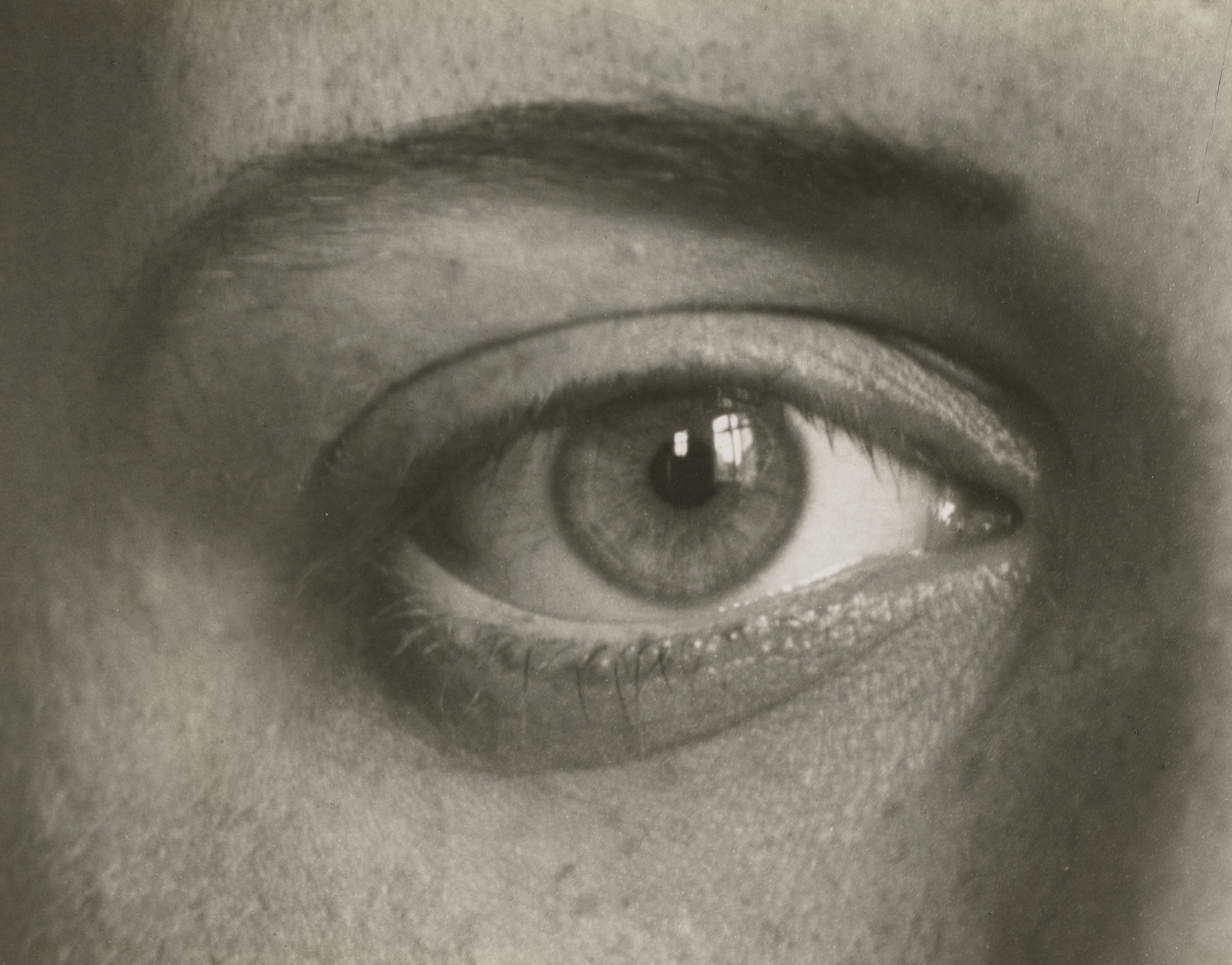 August Sander. The Right Eye of My Daughter Sigrid. 1928