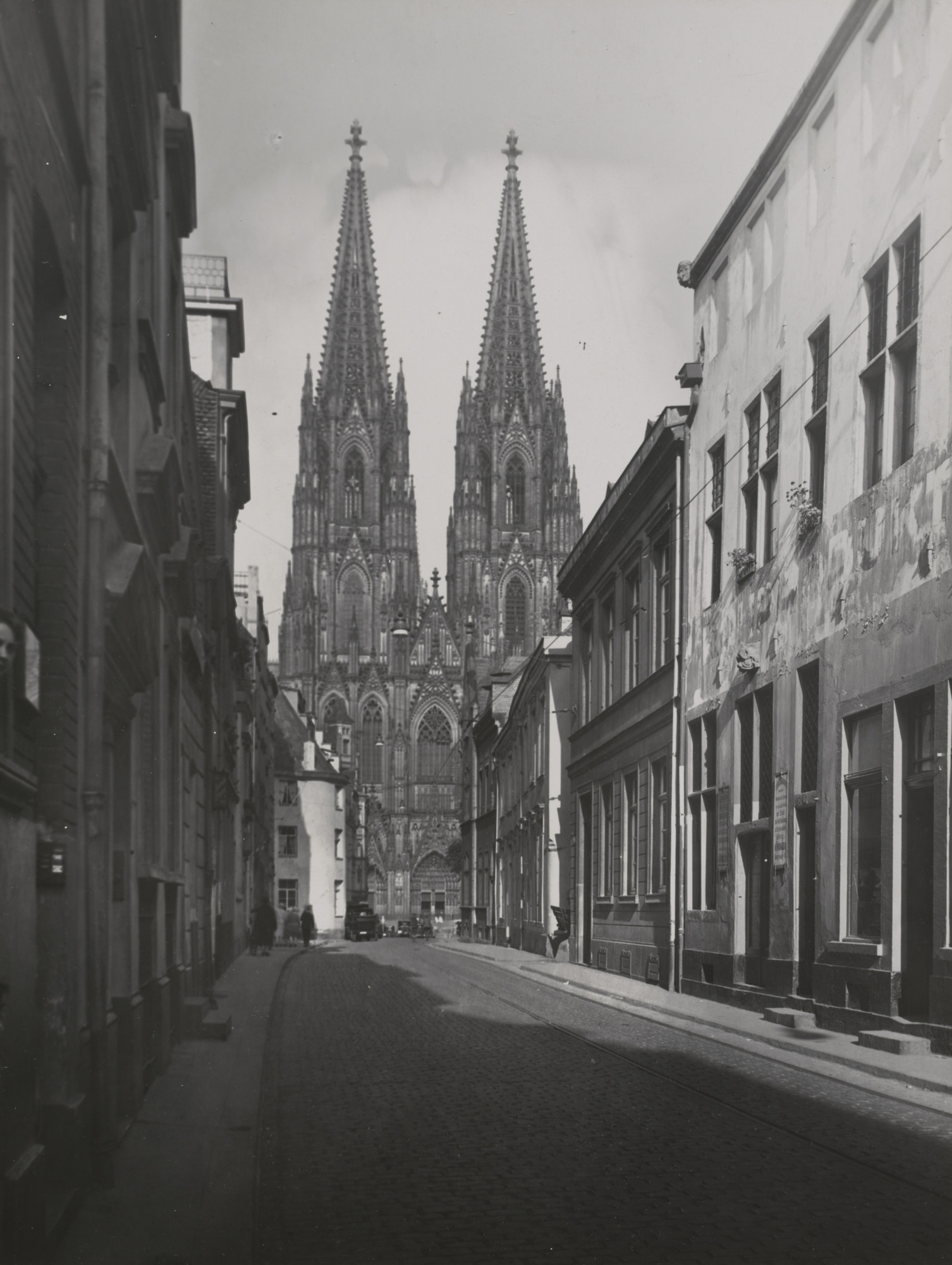 August Sander. View of the Old City. 1924