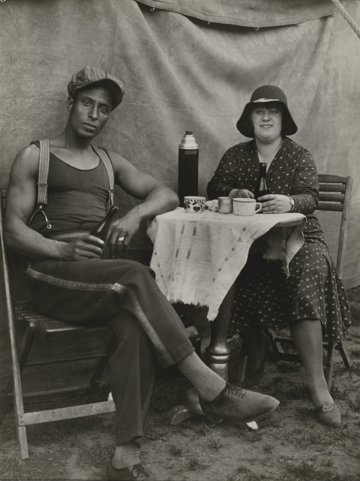 August Sander. Indian Man and German Woman. 1926