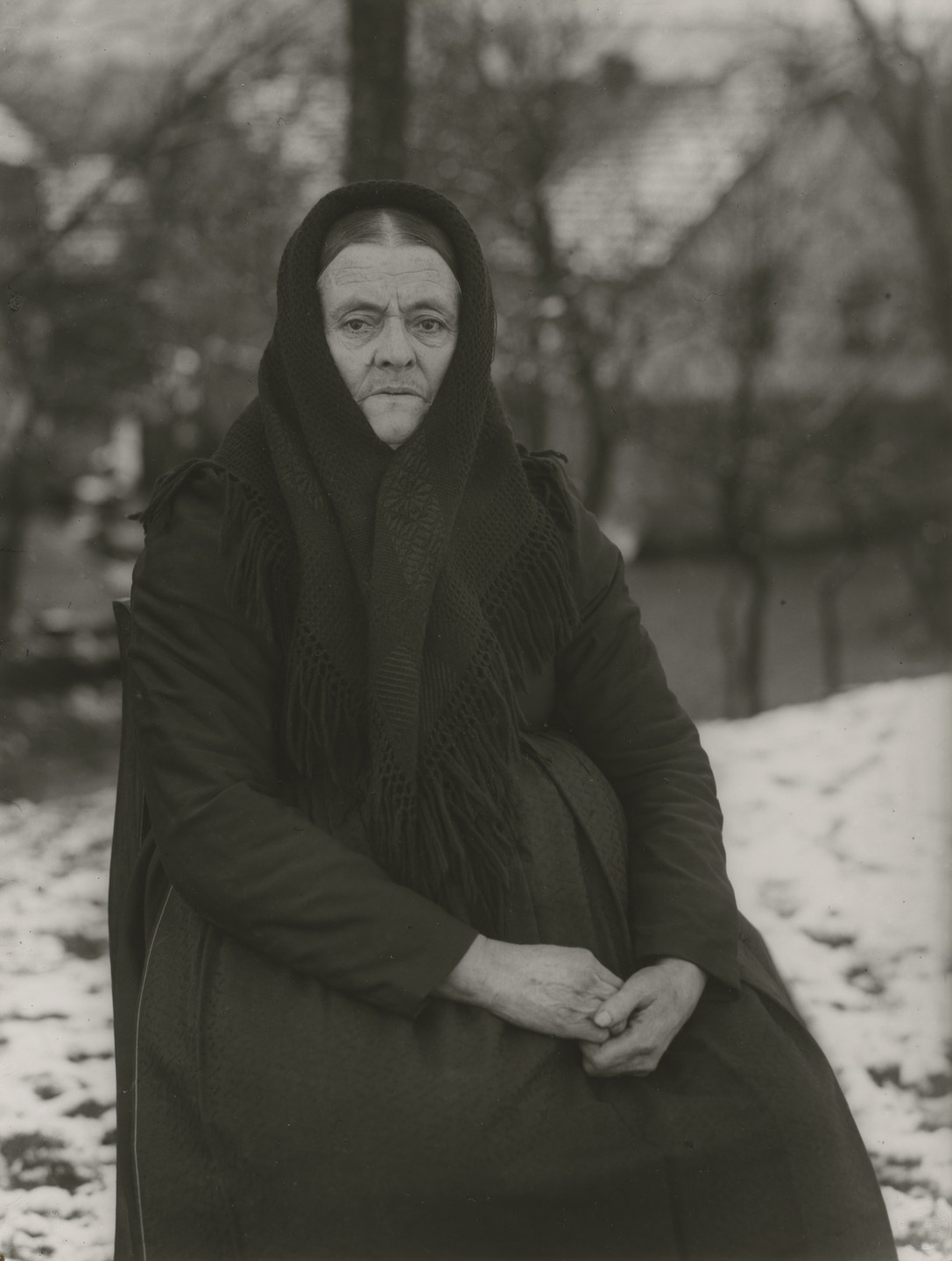 August Sander. Peasant Woman. 1912