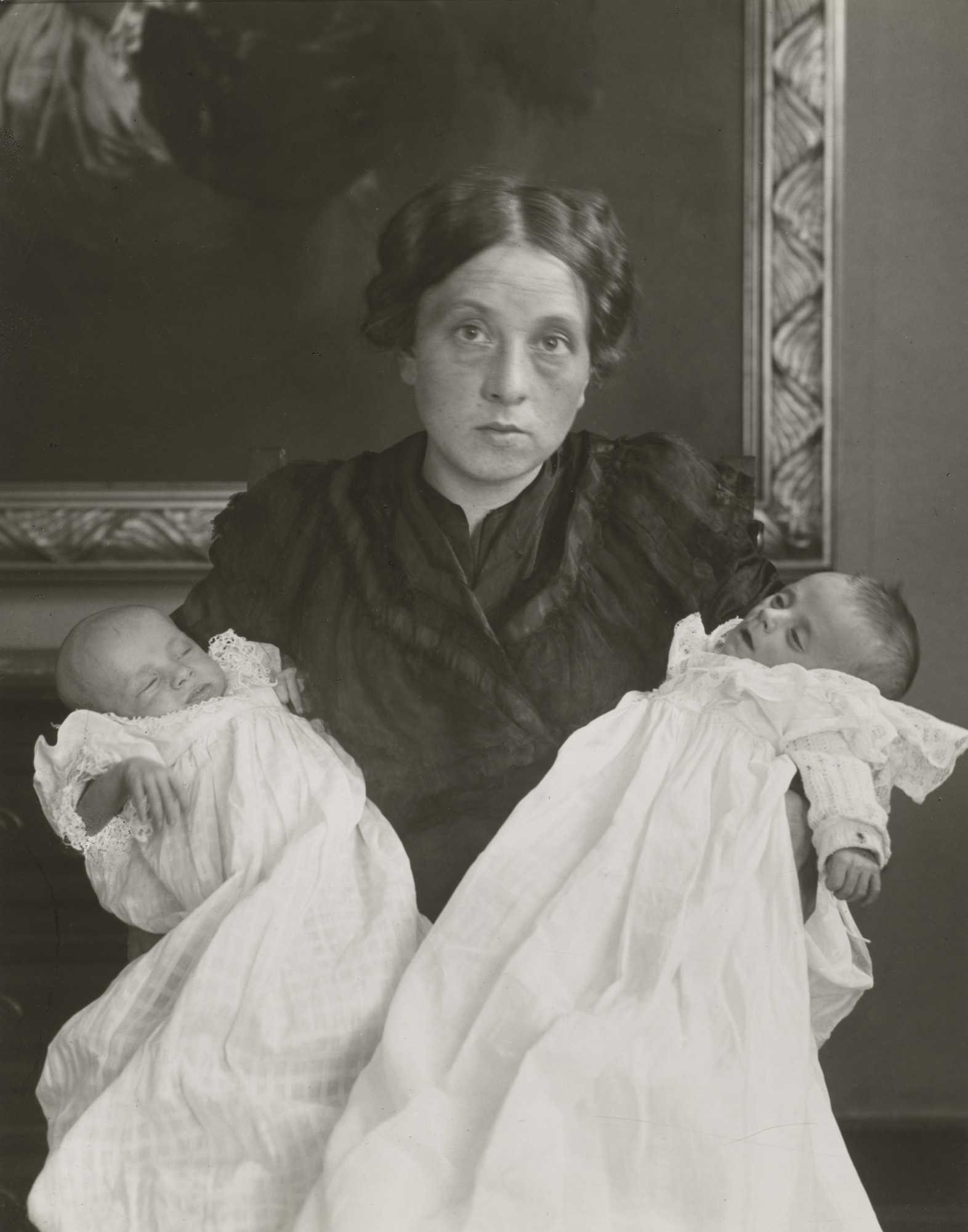August Sander. The Mother in Joy and Grief. 1911