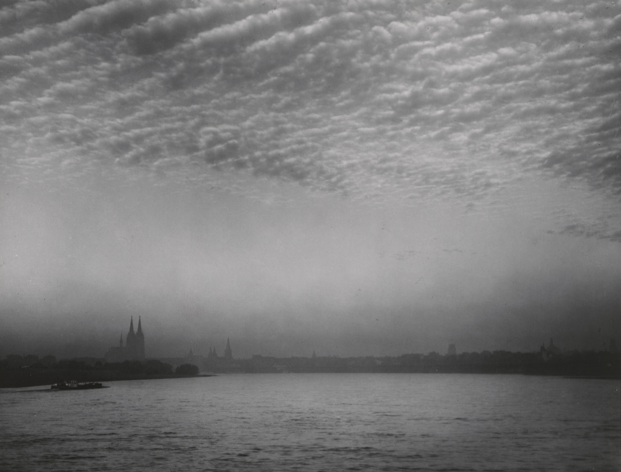 August Sander. Cologne in the Morning Hours. 1938