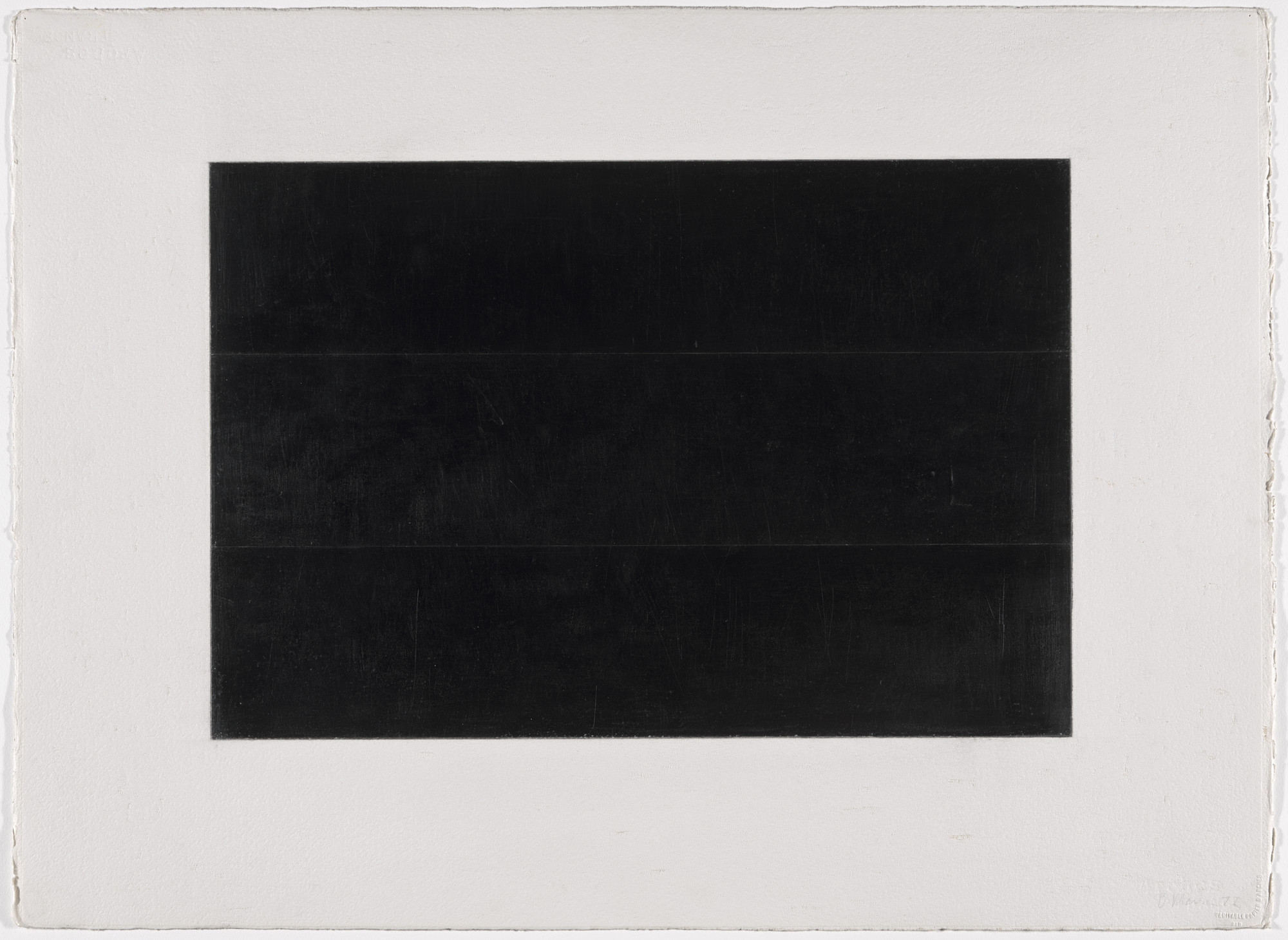 Brice Marden. Grove Group 5. 1972