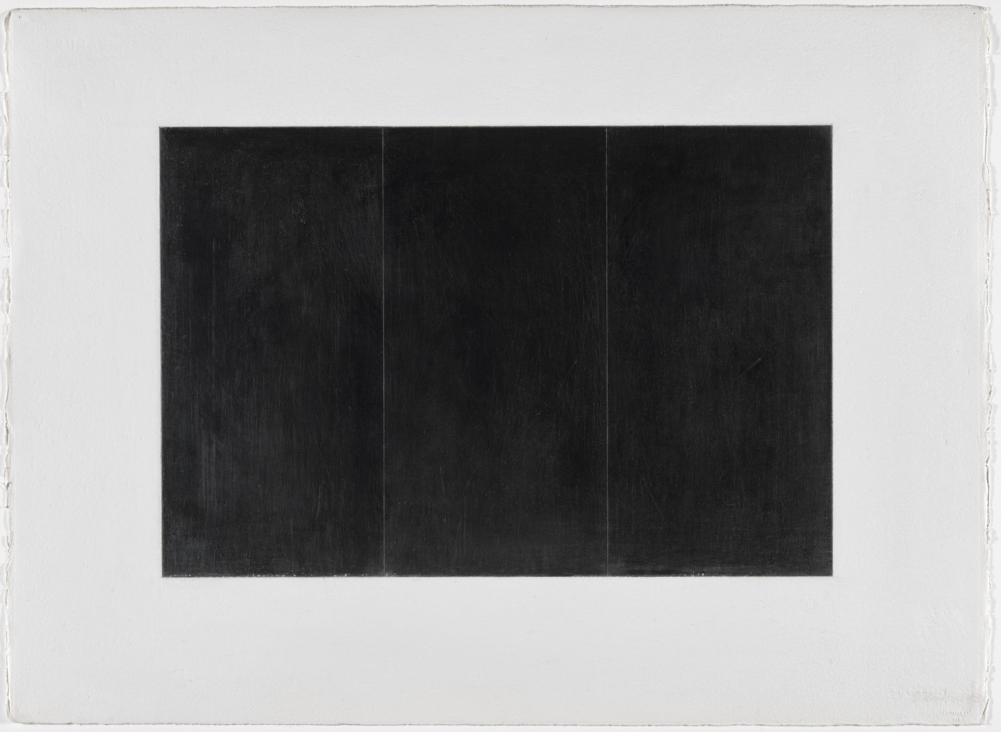 Brice Marden. Grove Group 3. 1972