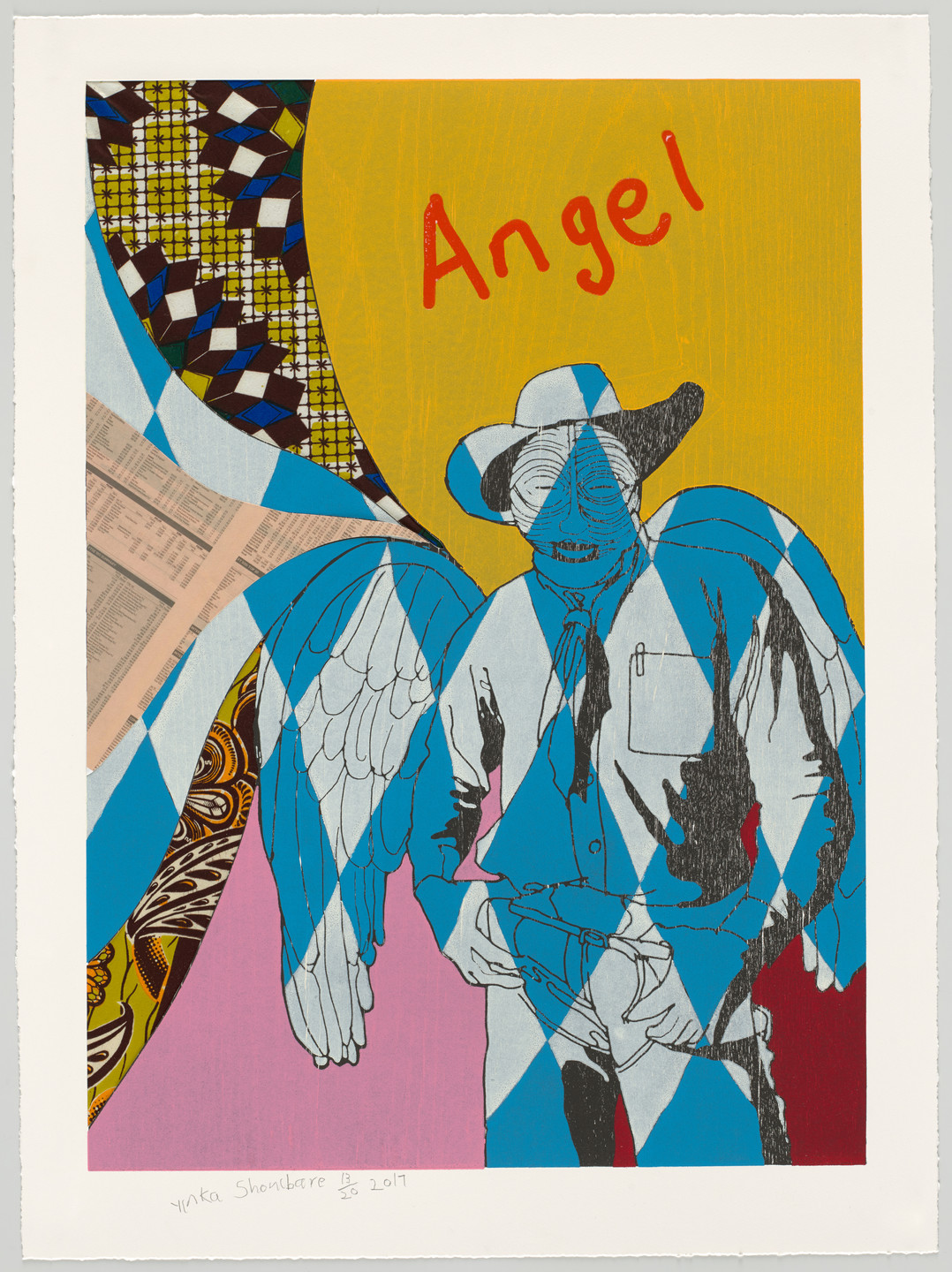 Yinka Shonibare. Cowboy Angels III from Cowboy Angels. 2017