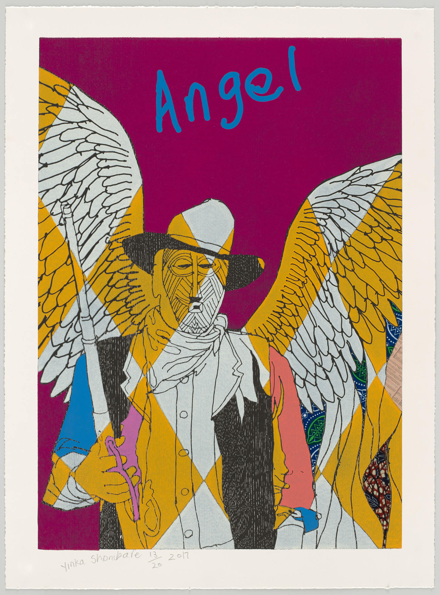 Yinka Shonibare. Cowboy Angels IV from Cowboy Angels. 2017