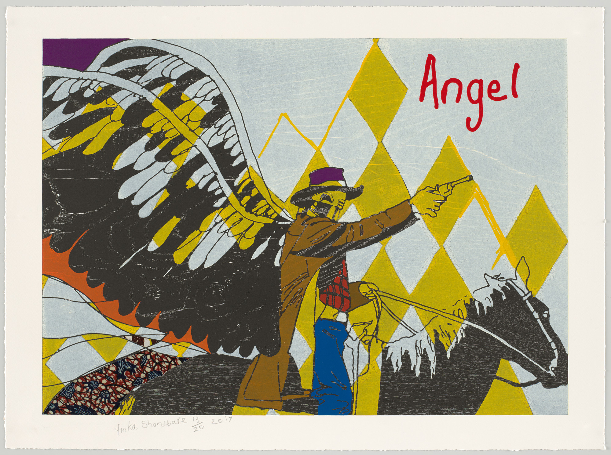 Yinka Shonibare. Cowboy Angels V from Cowboy Angels. 2017