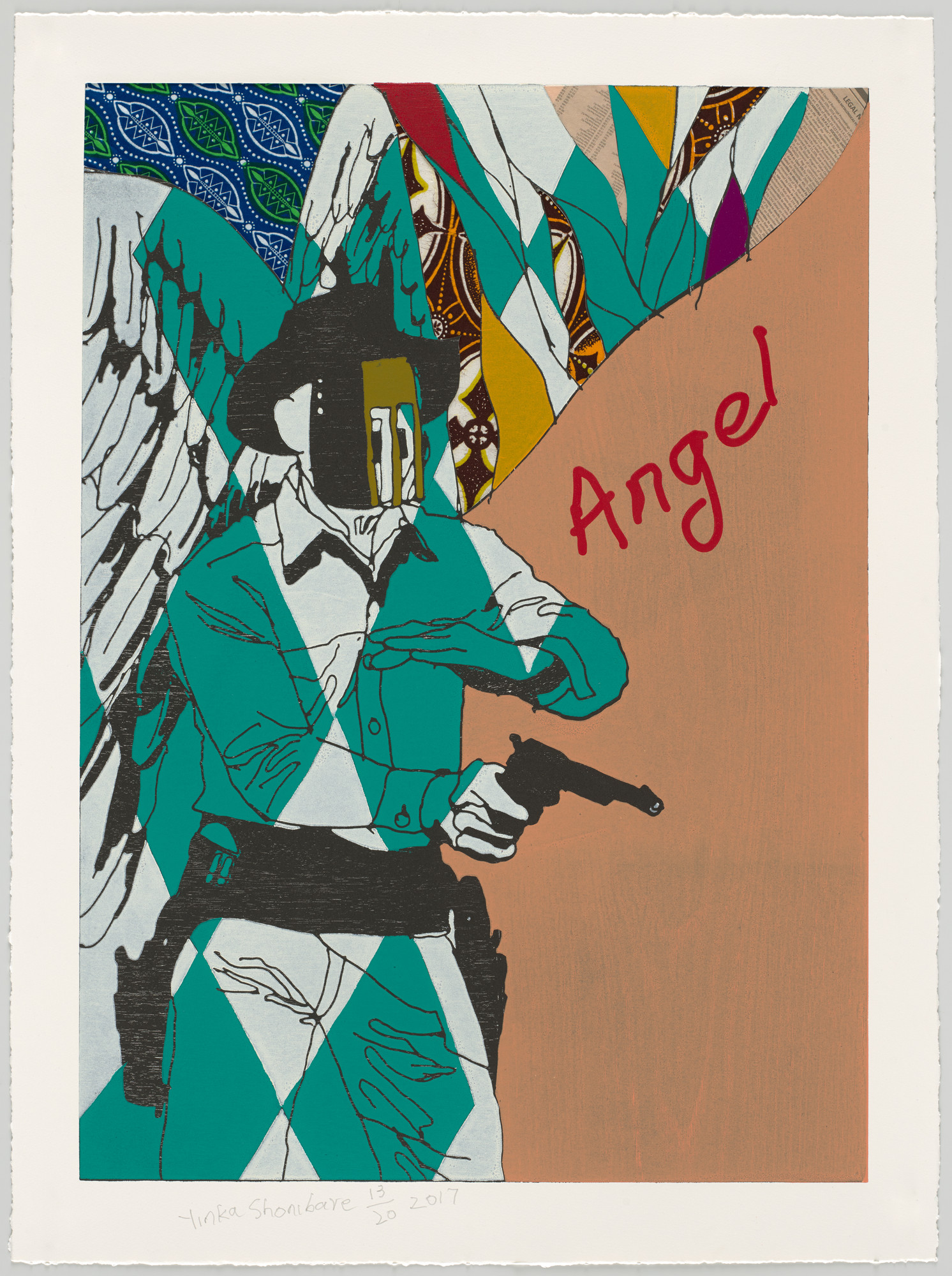 Yinka Shonibare. Cowboy Angels II from Cowboy Angels. 2017