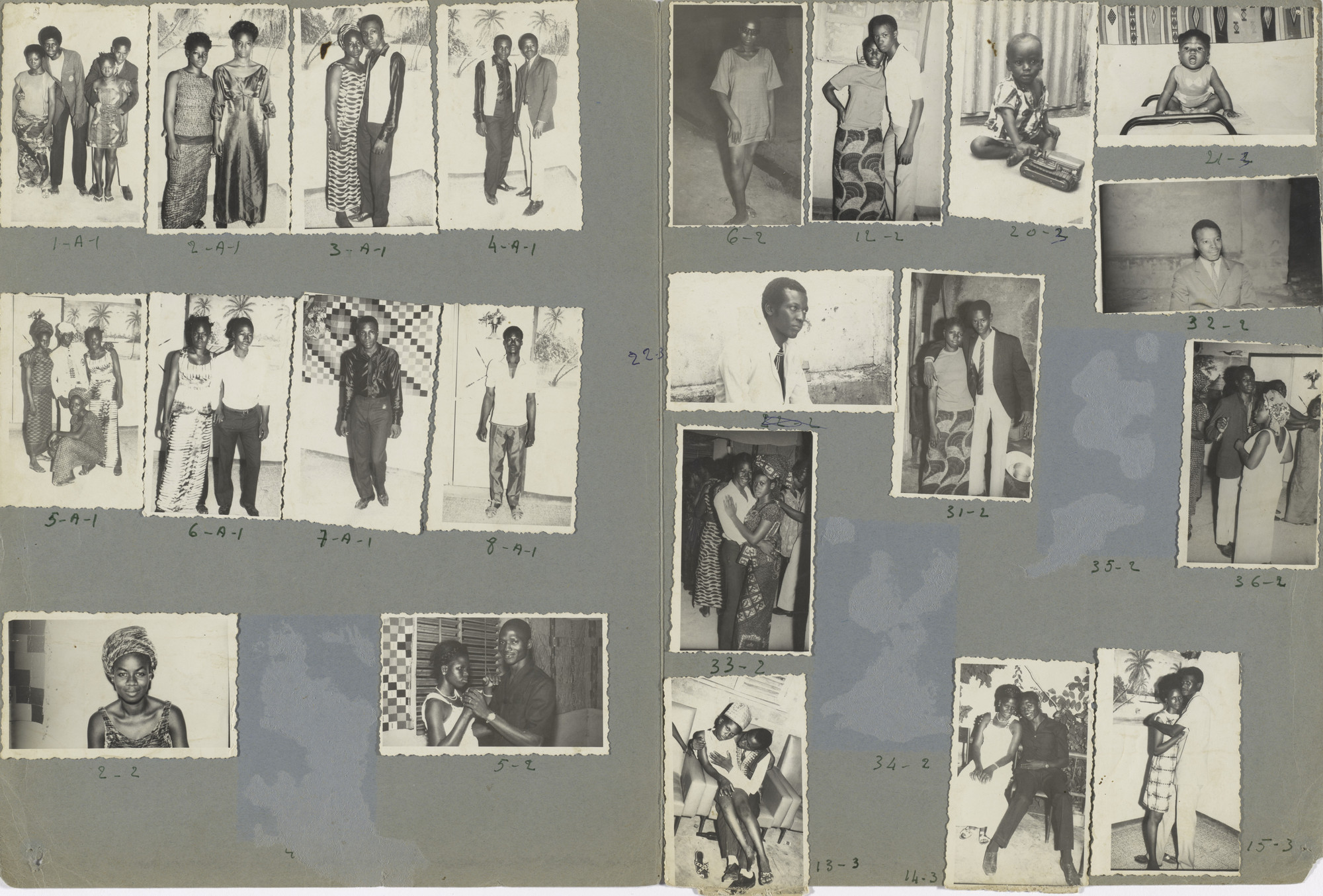 Malick Sidibé. Les Caïds (Big Shots). July 19, 1970