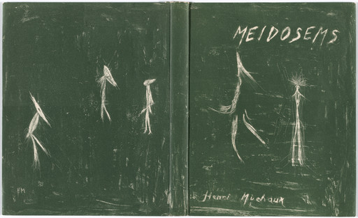 Henri Michaux. Wrapper from Meidosems. 1948