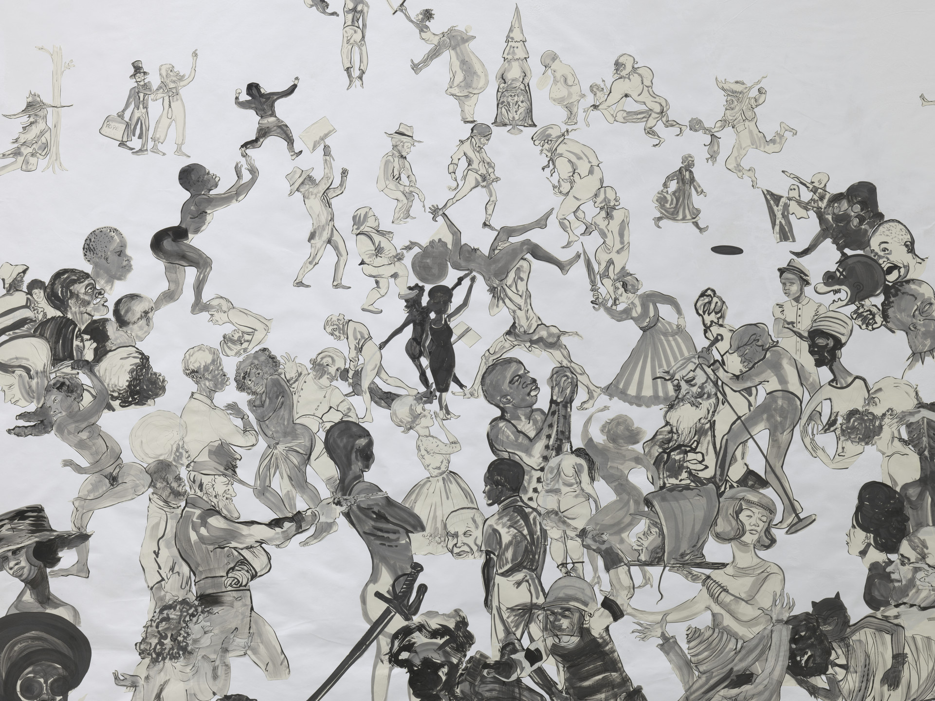 Kara Walker. Christ's Entry into Journalism. 2017