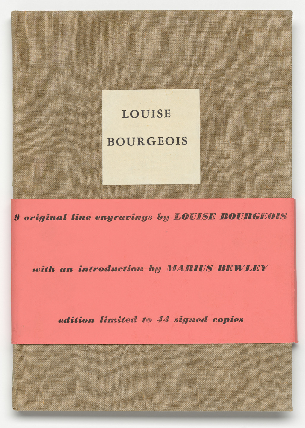 Louise Bourgeois. He Disappeared into Complete Silence, first edition (Example 1). 1947