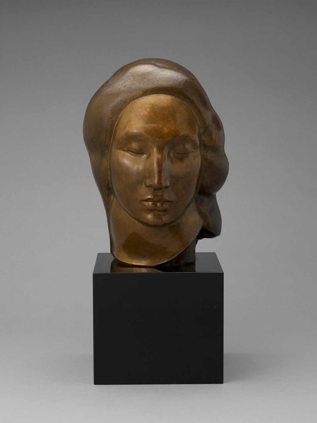 Gaston Lachaise. Head of a Woman (Egyptian Head). 1922